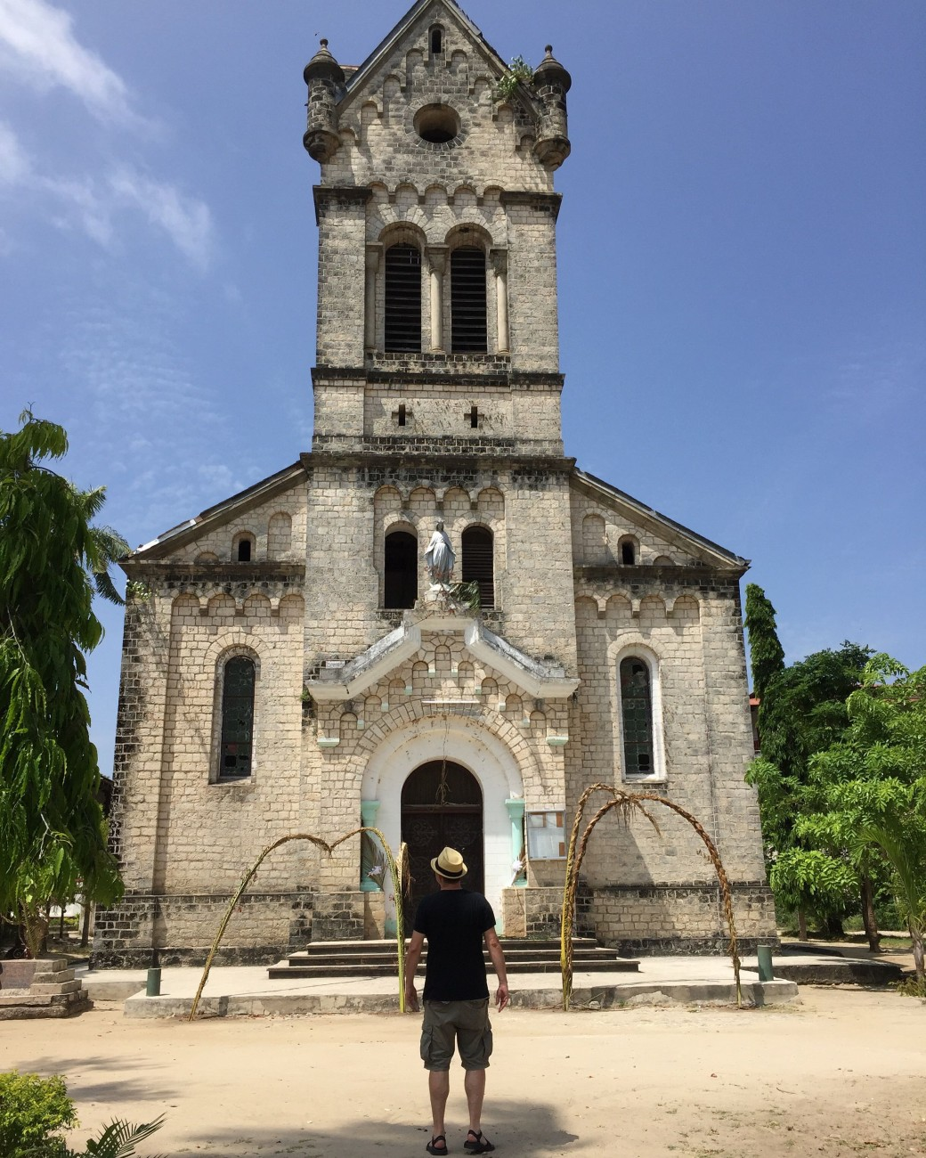 Die Missionskirche hingegen ist gut erhalten