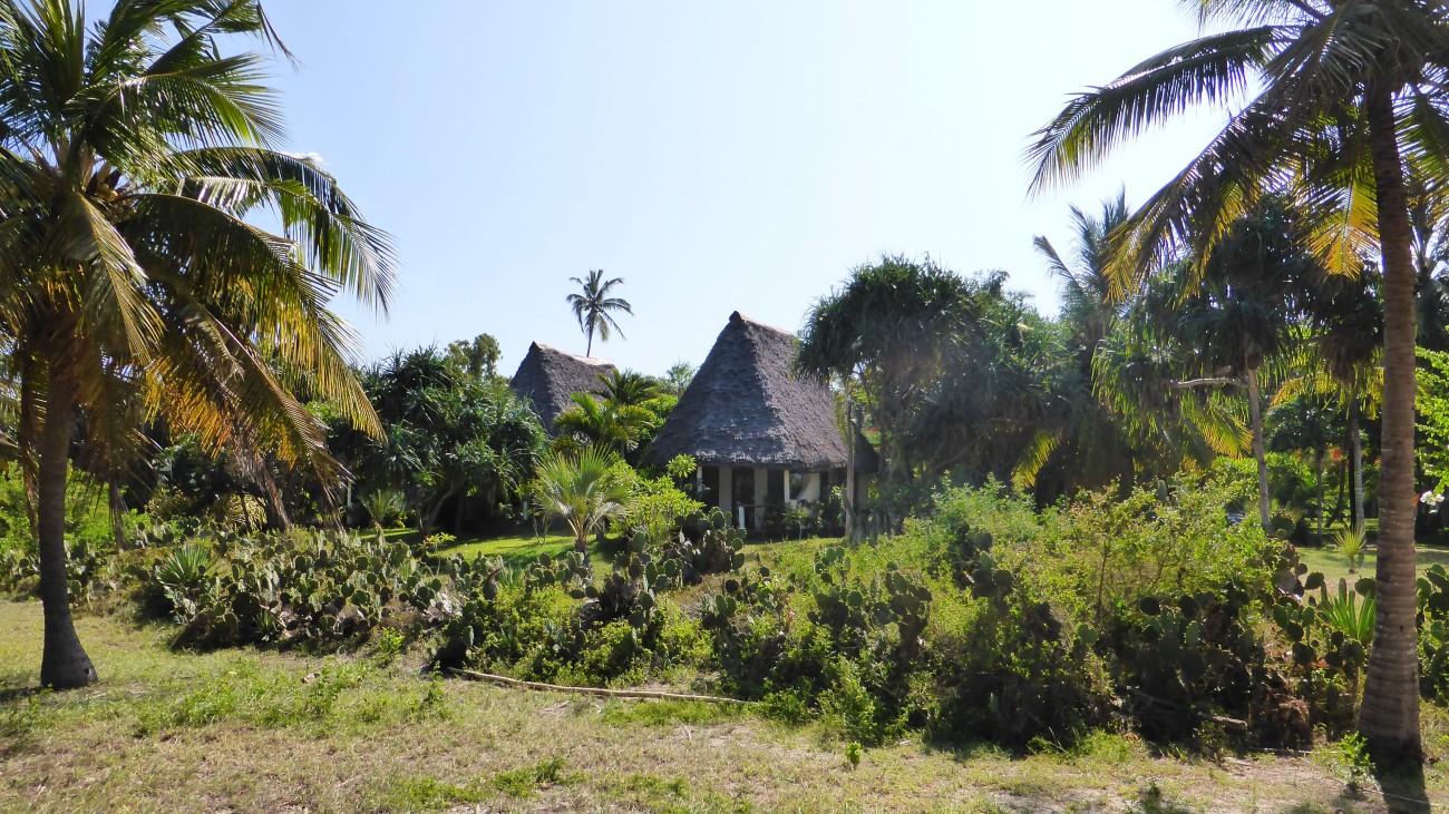 Die Travellers Lodge gehört zu den wenigen Touristenunterkünften