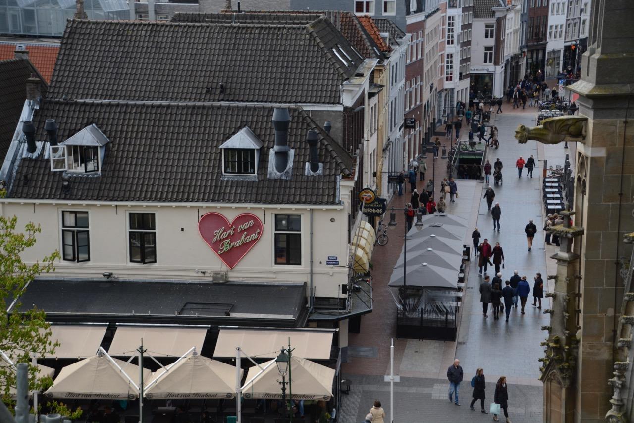 ...die völlig neue Perspektiven auf das Herz Brabants erlaubt