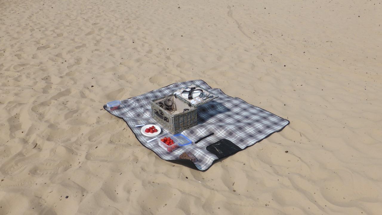 Einen perfekteren Ort für ein Picknick haben wir selten gesehen