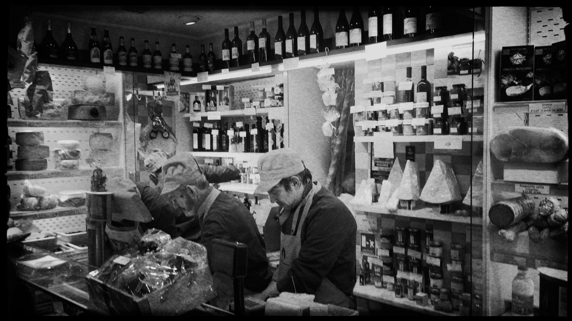 Feinschmeckergeschäft in Venedig