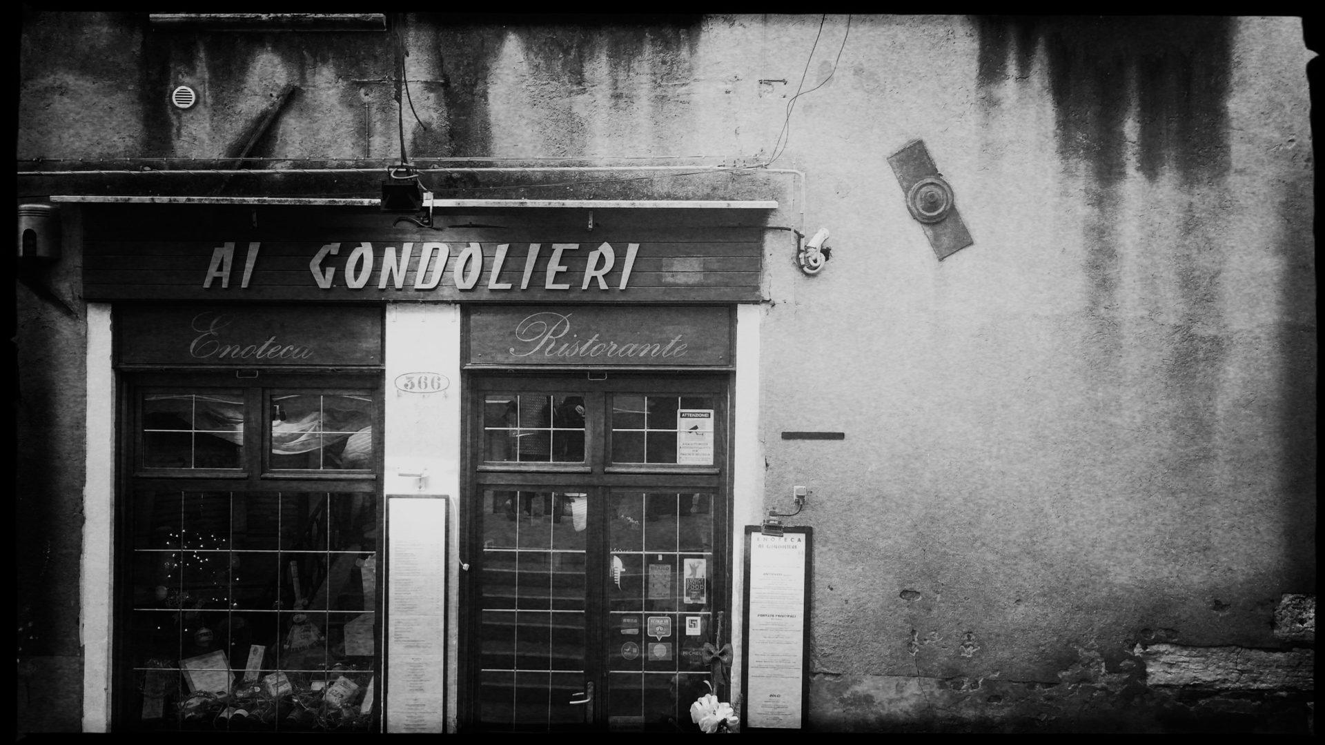 Ein Geheimtipp: Das Restaurant »Ai Gondolieri« in Venedig