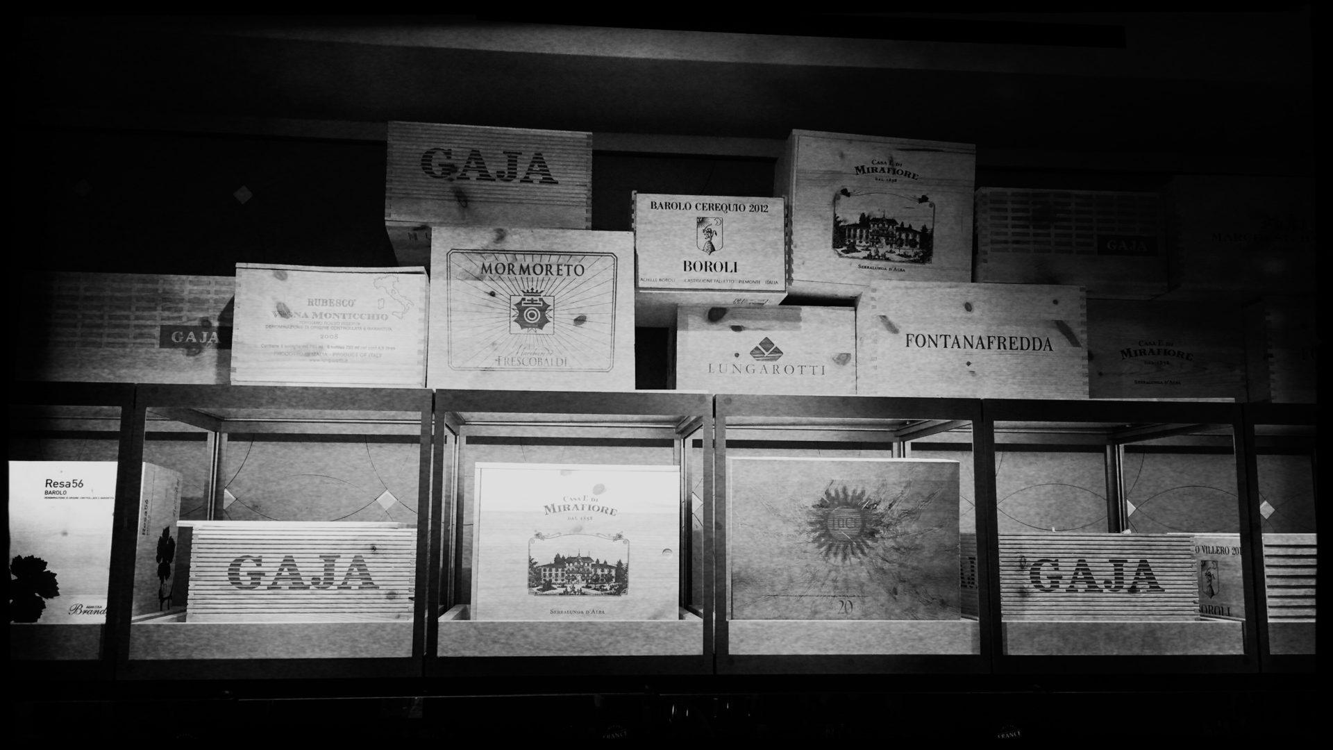 Weinkeller der Fondazione Tedeschi in Venedig