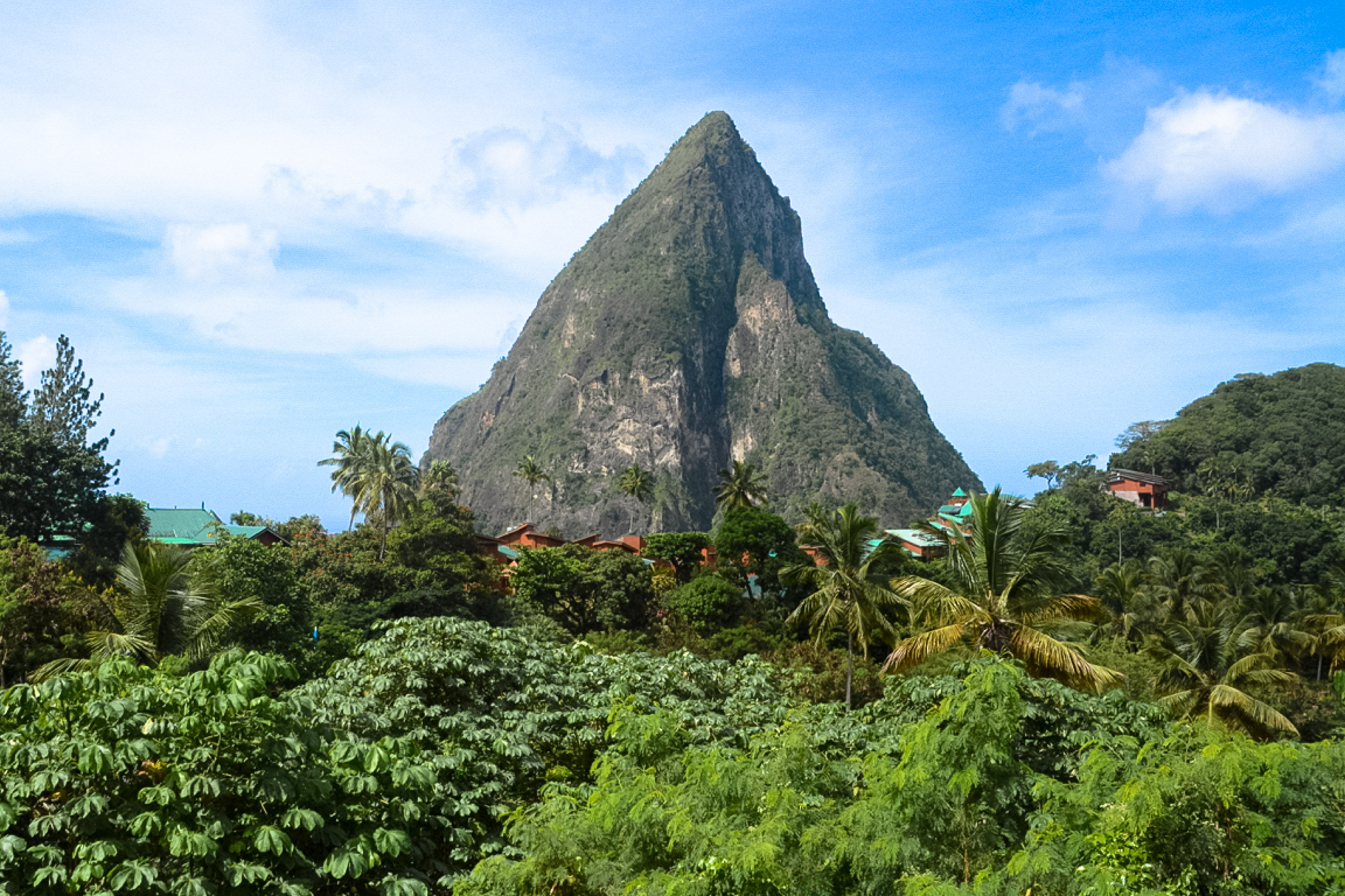 Pitons, St. Lucia, Anreise nach St. Lucia