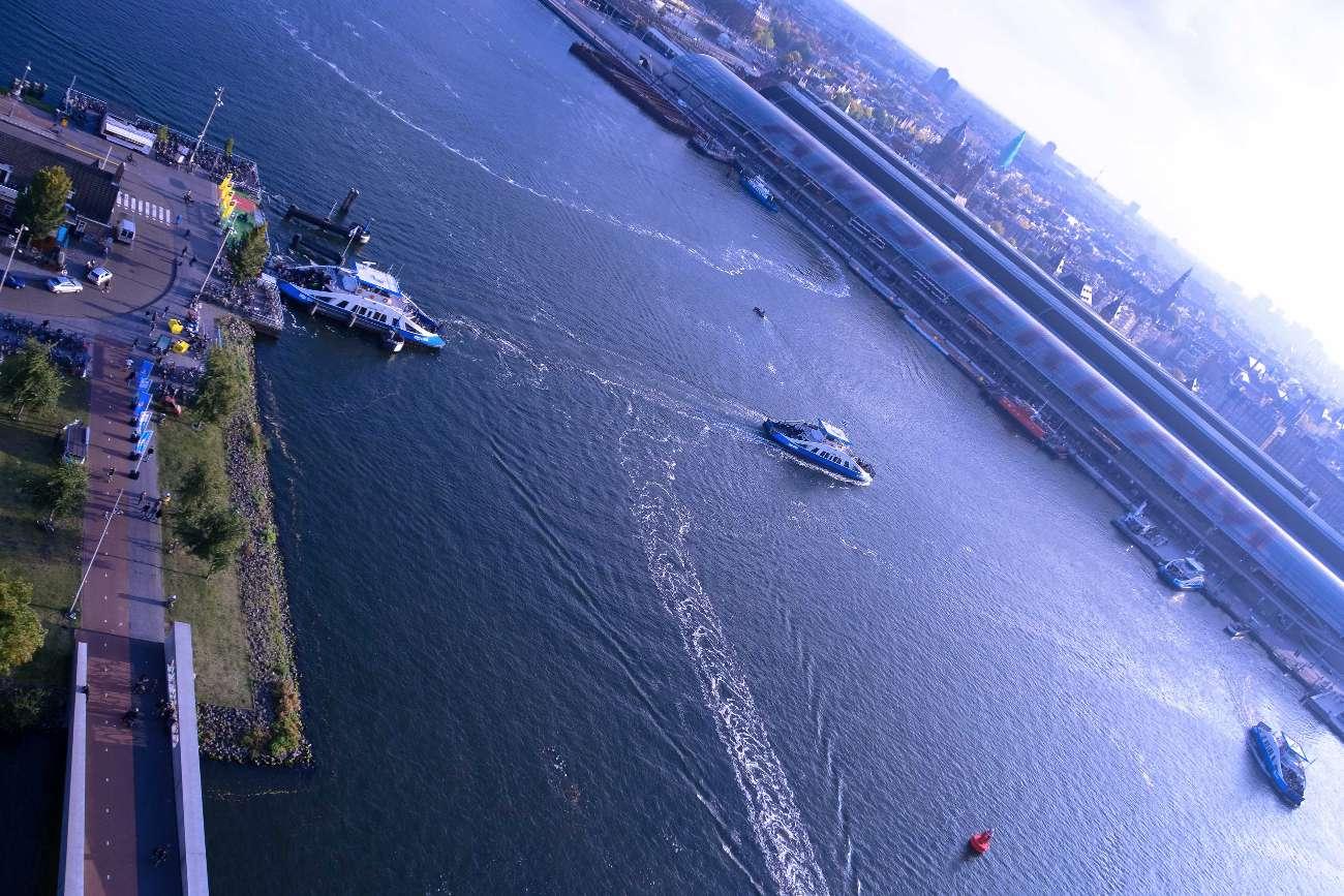 Amsterdam A'dam Tower die höchste Schaukel Europas