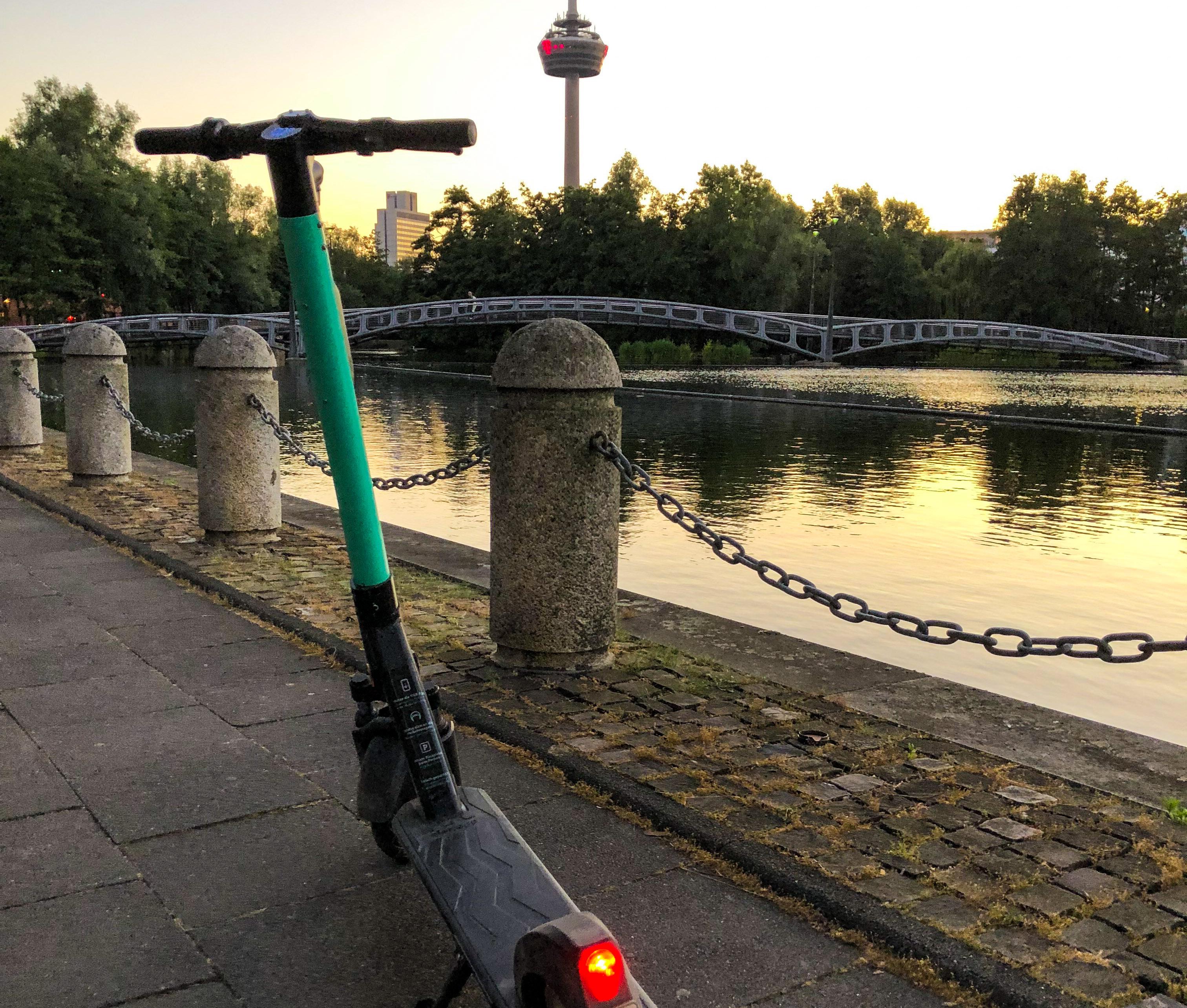 E-Scooter, Köln, Roadtrip, Veedel, mit dem E-Scooter durch Köln