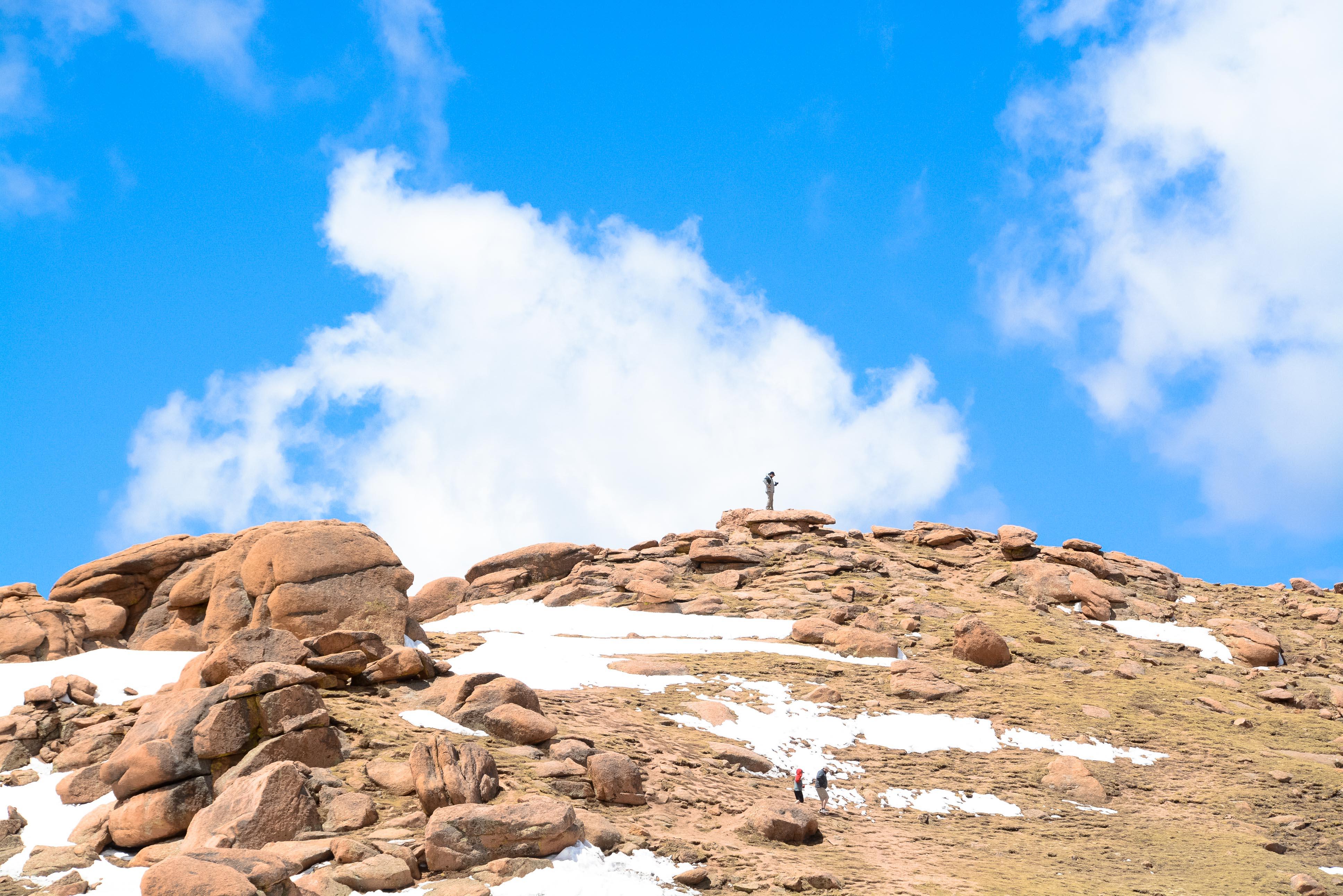 Colorado, Pikes Peak, Pikes Peak International Hill Race, America's Mountain, Colorado Springs, Denver, Boarding Competed, Reiseblog