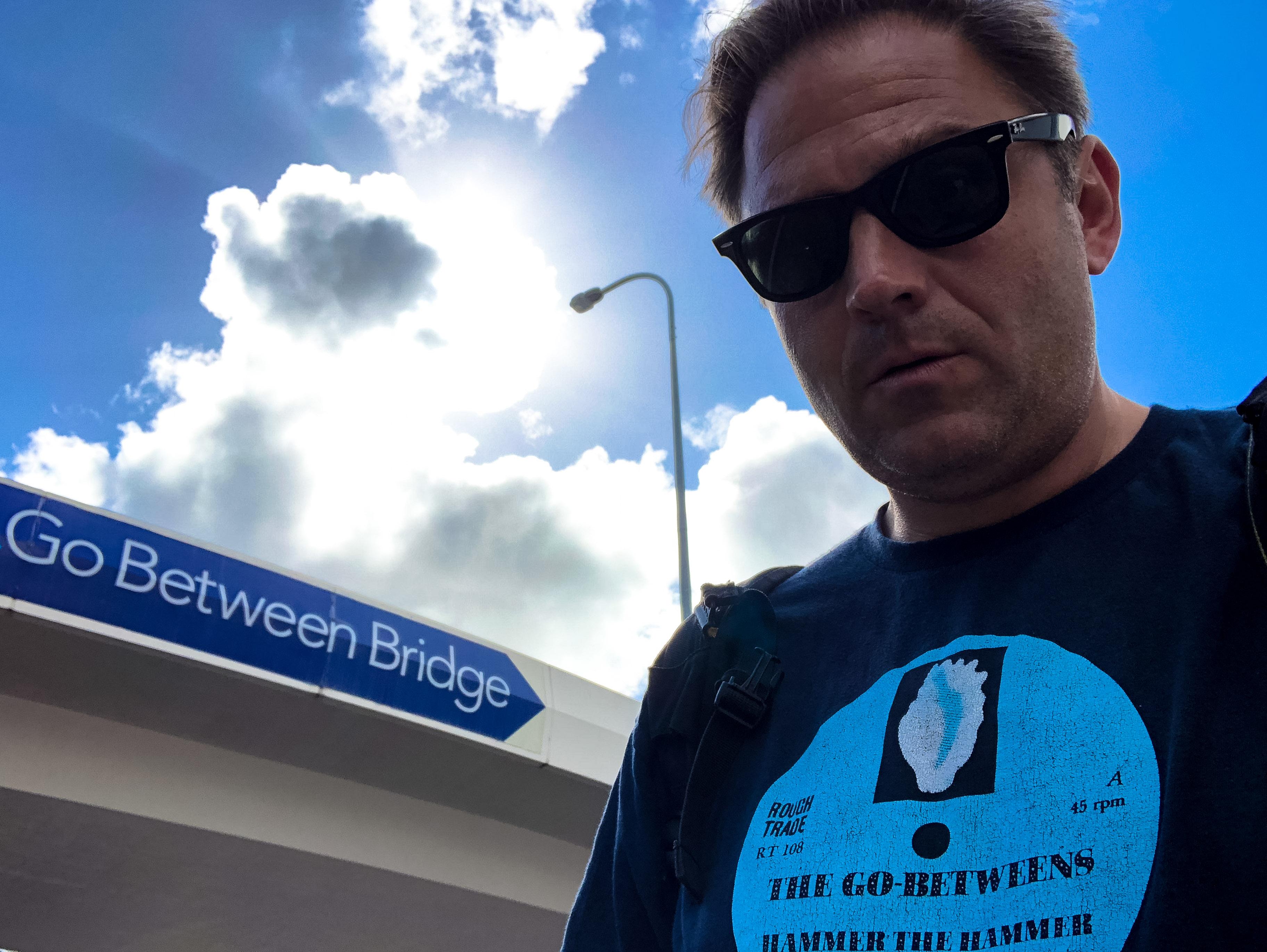Go-Betweens, Go Between Bridge, Brisbane, Stopover in Brisbane,