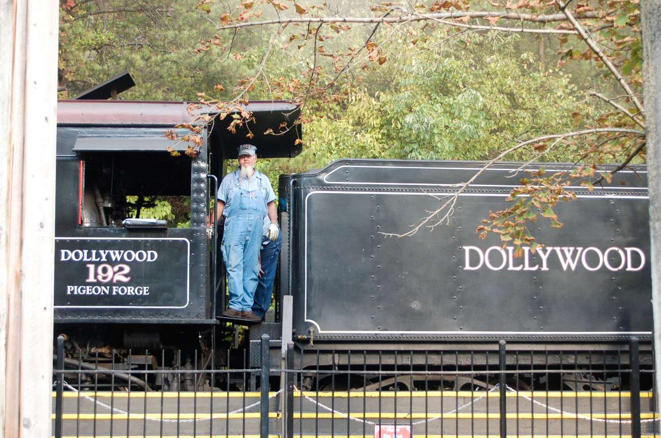 Dampflok in Dollywood