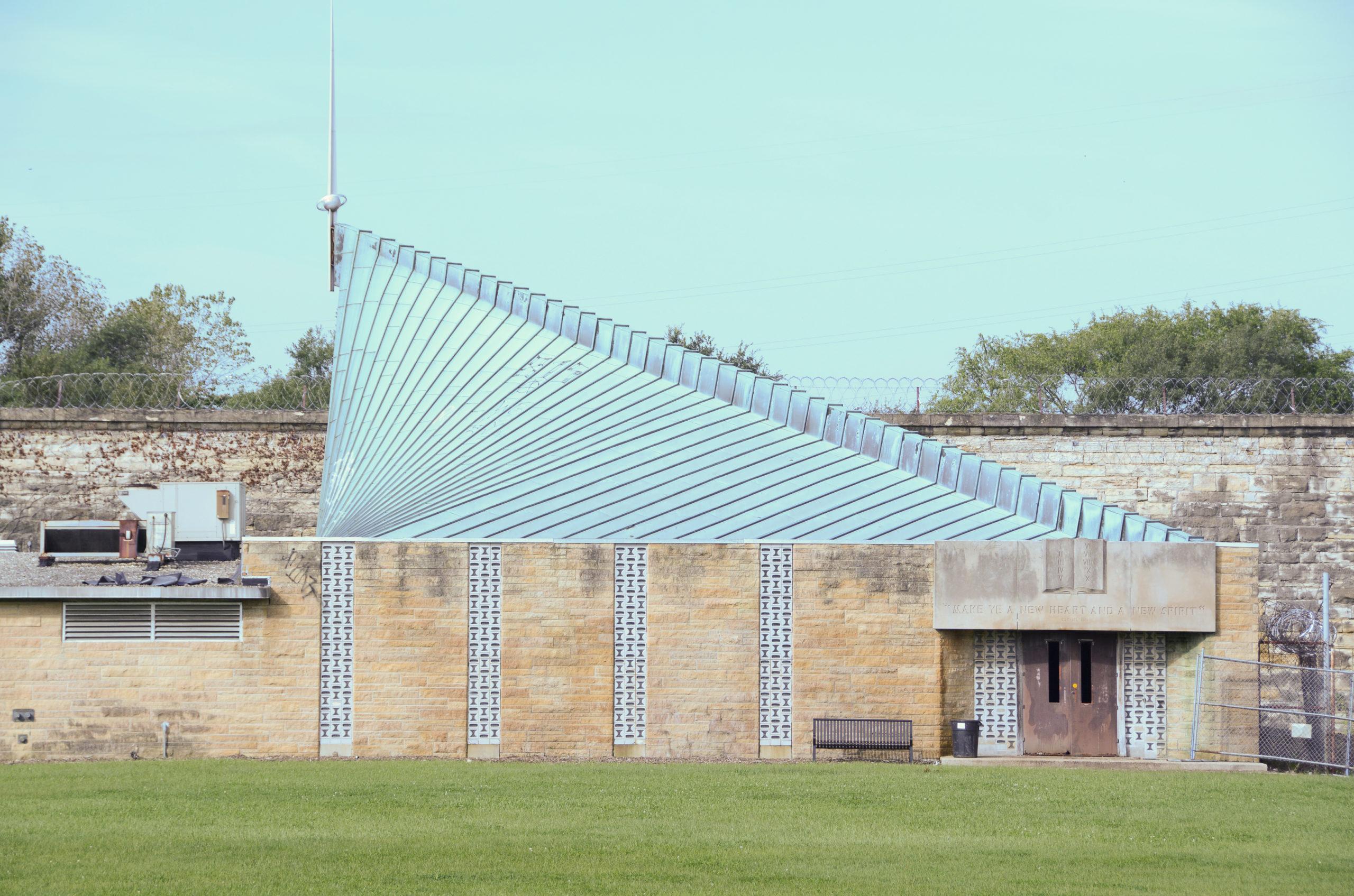 Die Gefängsniskirche des Old Joliet Prison ist eine Ikone der Moderne