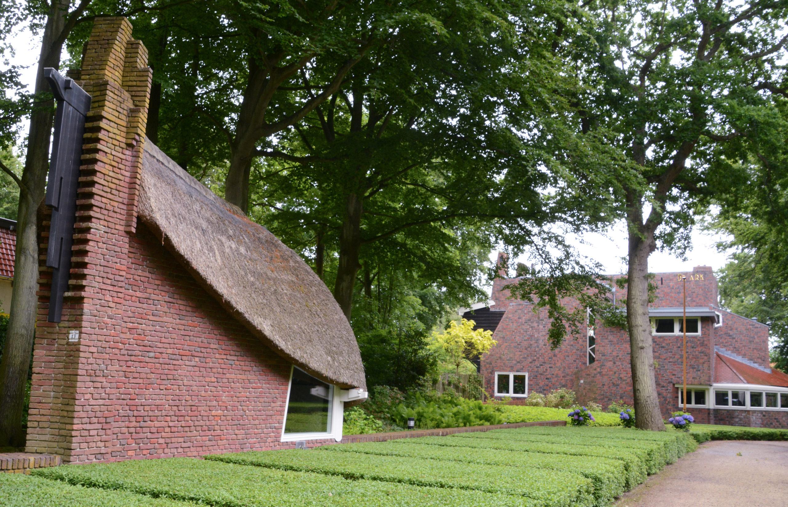 Villa »De Ark« in Bergen im Stil der Amsterdamer Schule
