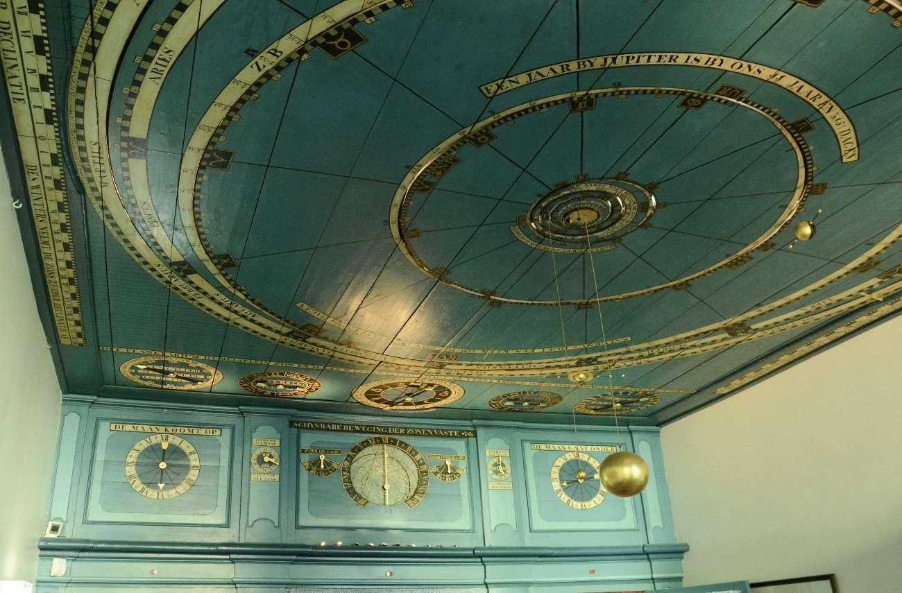 Das älteste funktionierende Planetarium der Welt befindet sich in einem Wohnzimmer