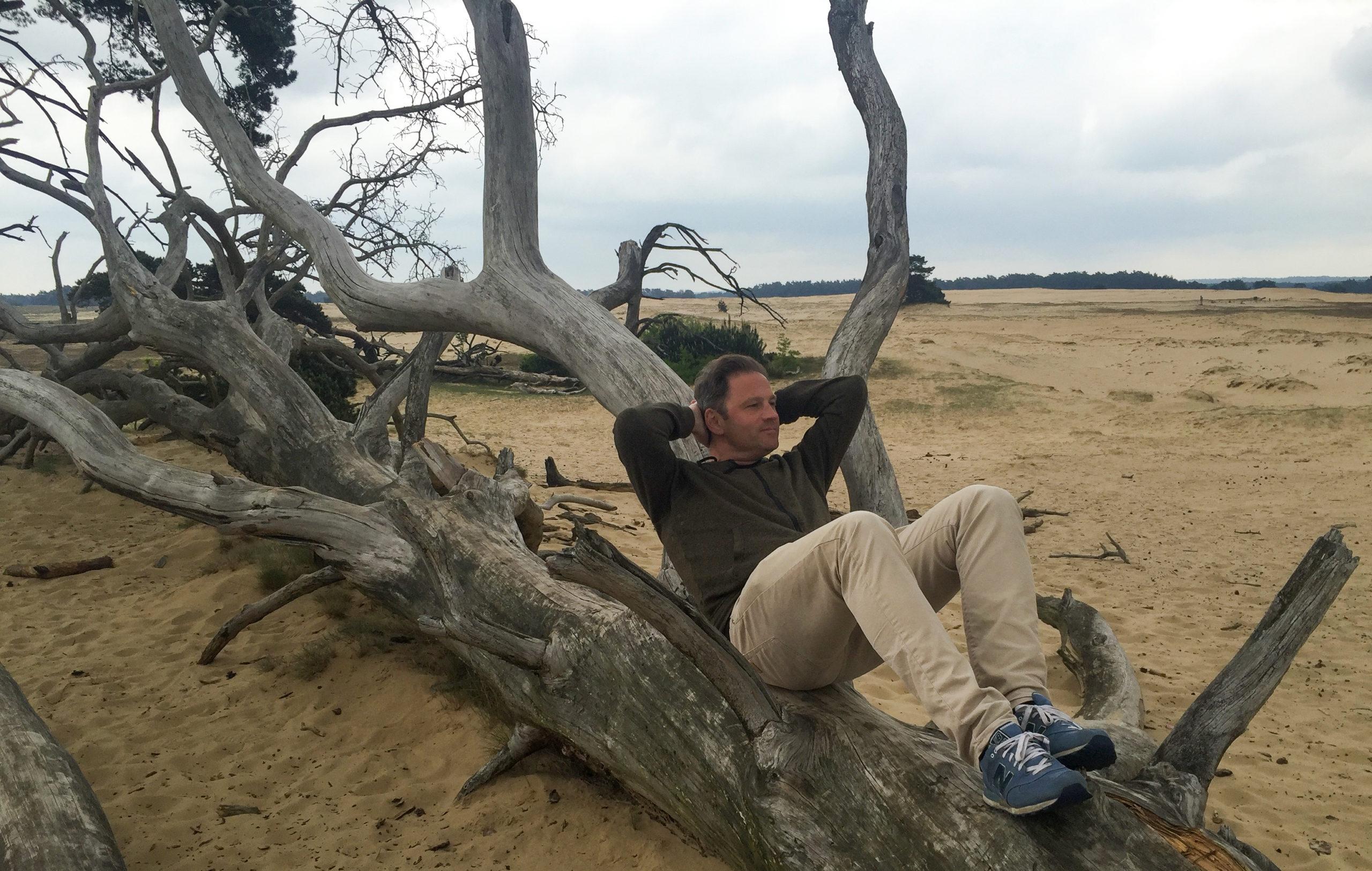 Autor Ralf Johnen im Nationalpark Hoge Veluwe