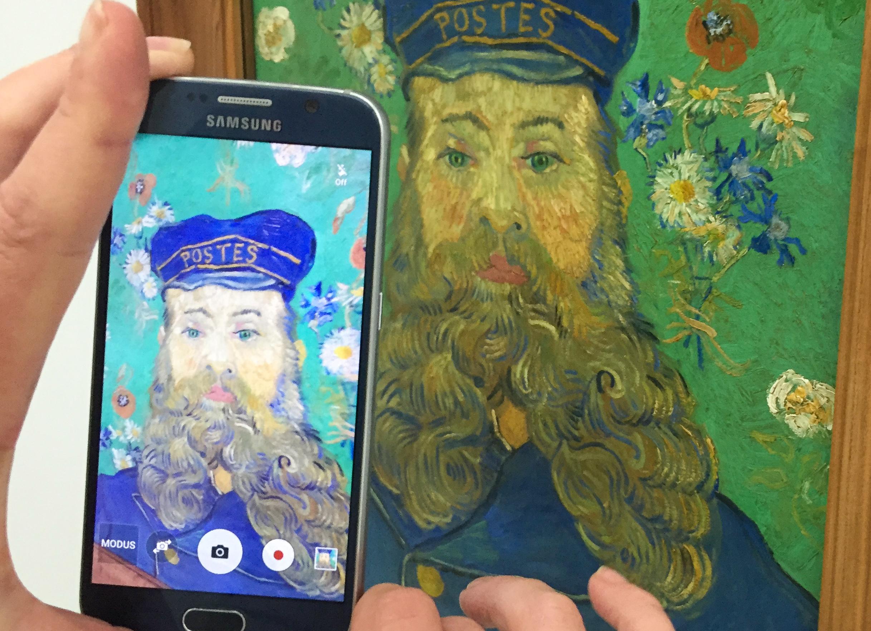 Selfie mit van Goghs Postmann