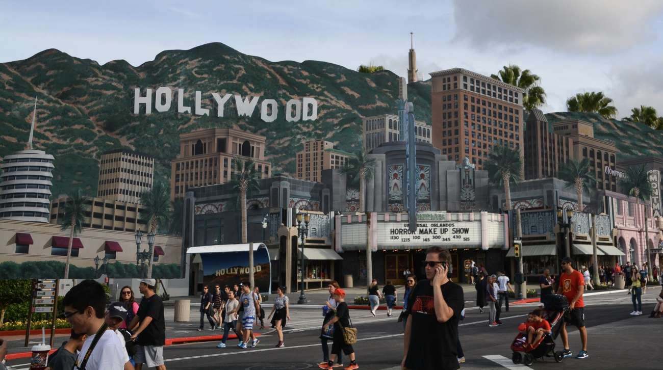 Hollywood-Kulisse in den Universal-Studios
