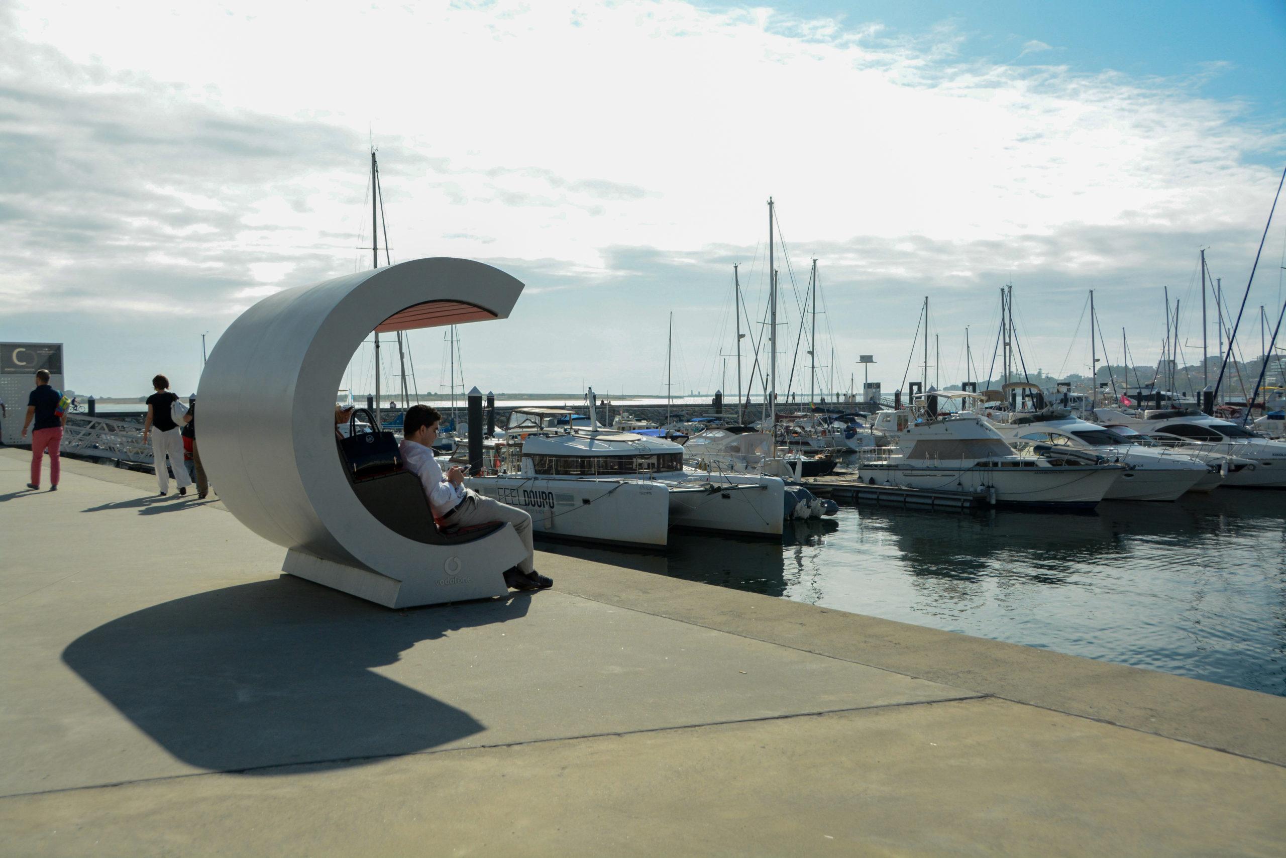 Der Hafen von Arufada bei Porto