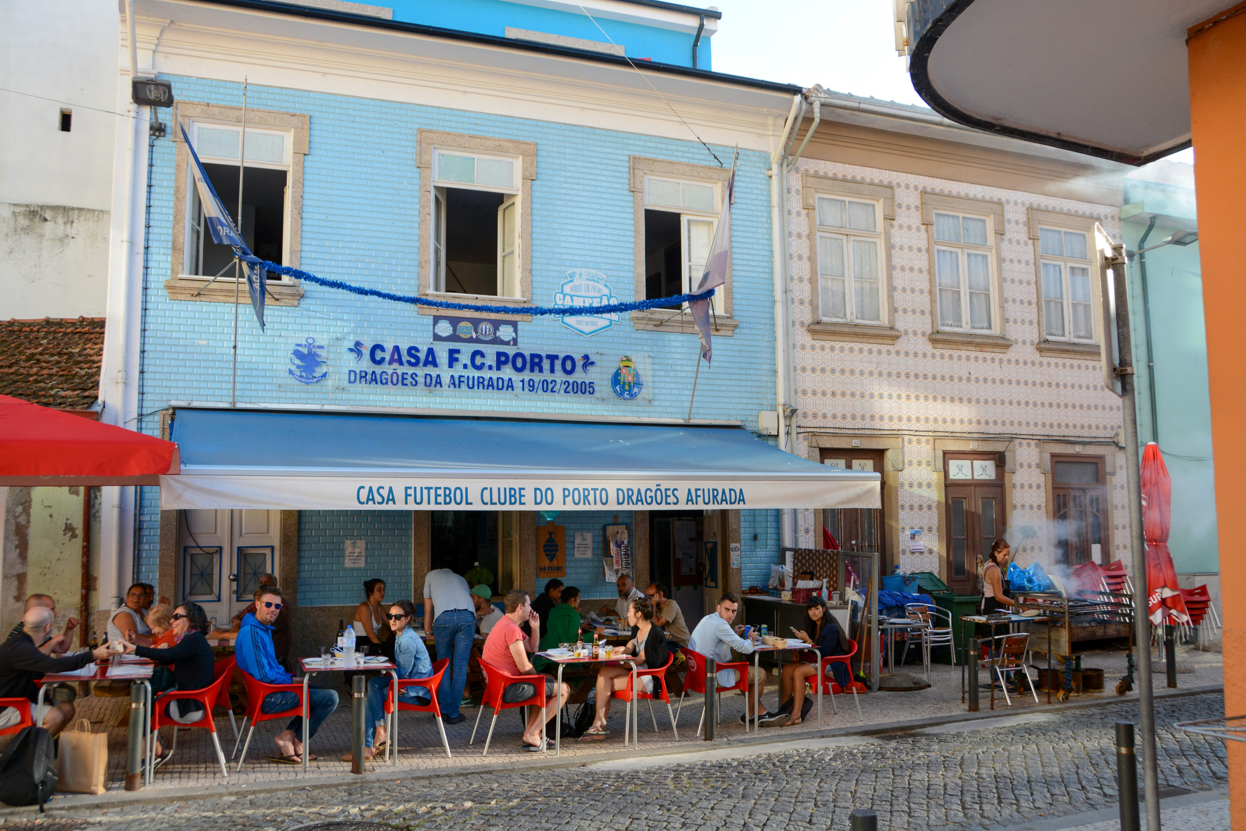 Restaurant in Arufada bei Porto