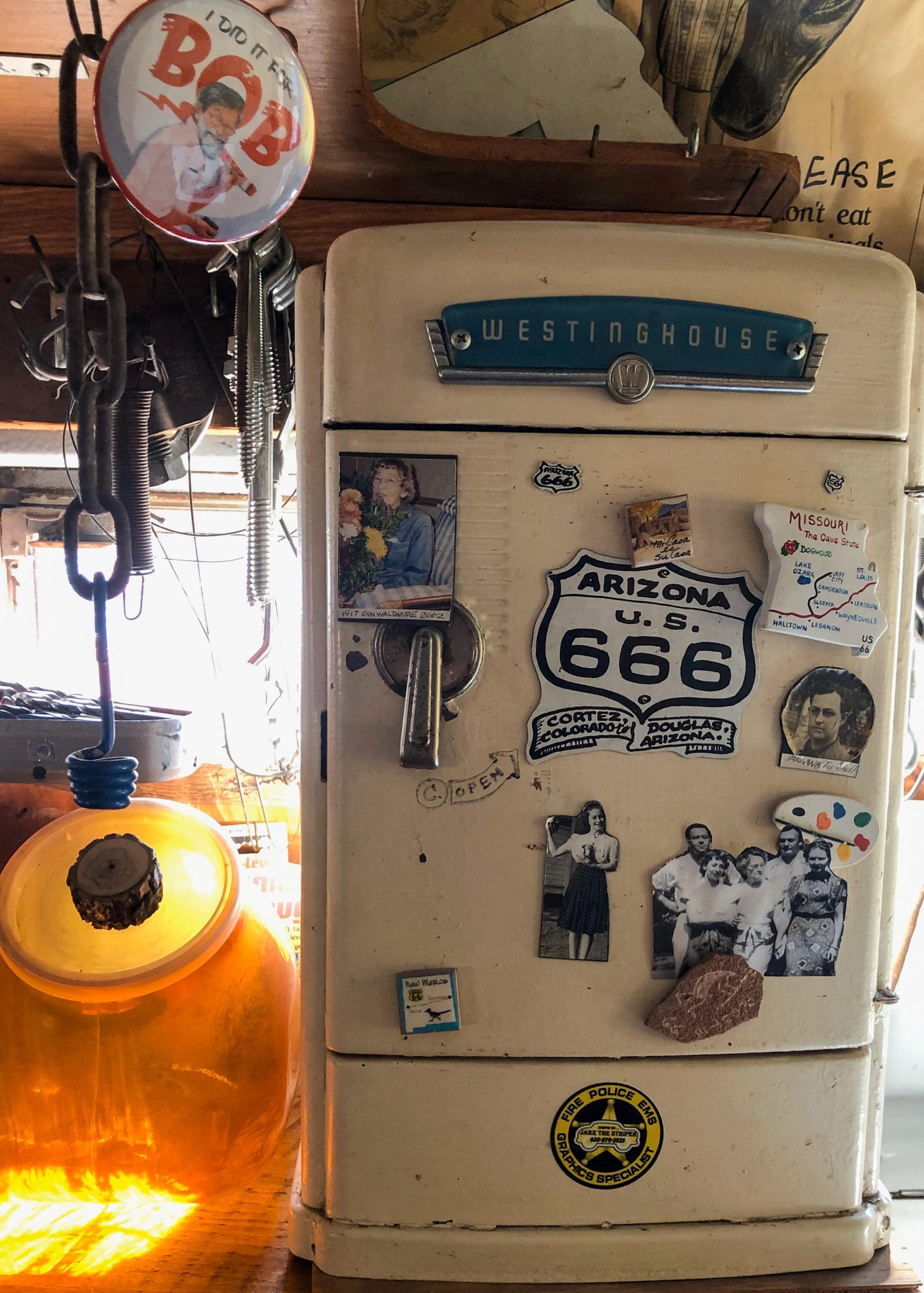 Kühlschrank in Bob Waldmires Road Yacht