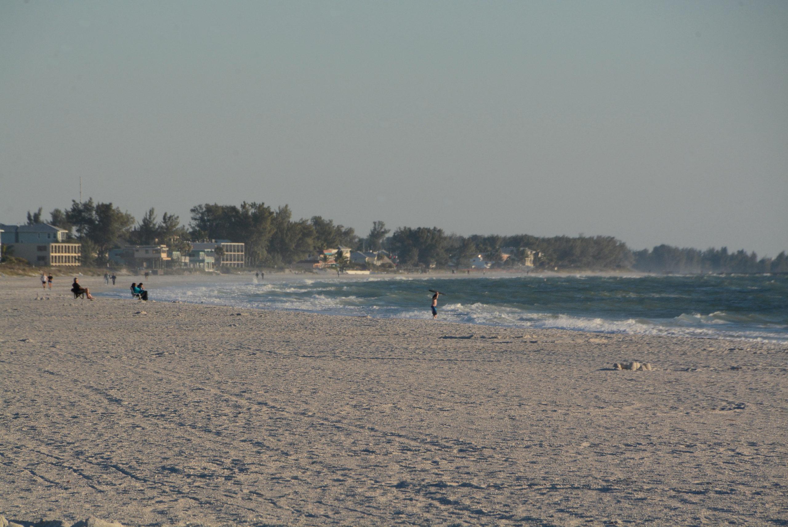 Der weiße Strand von Anna Maria Island Florida