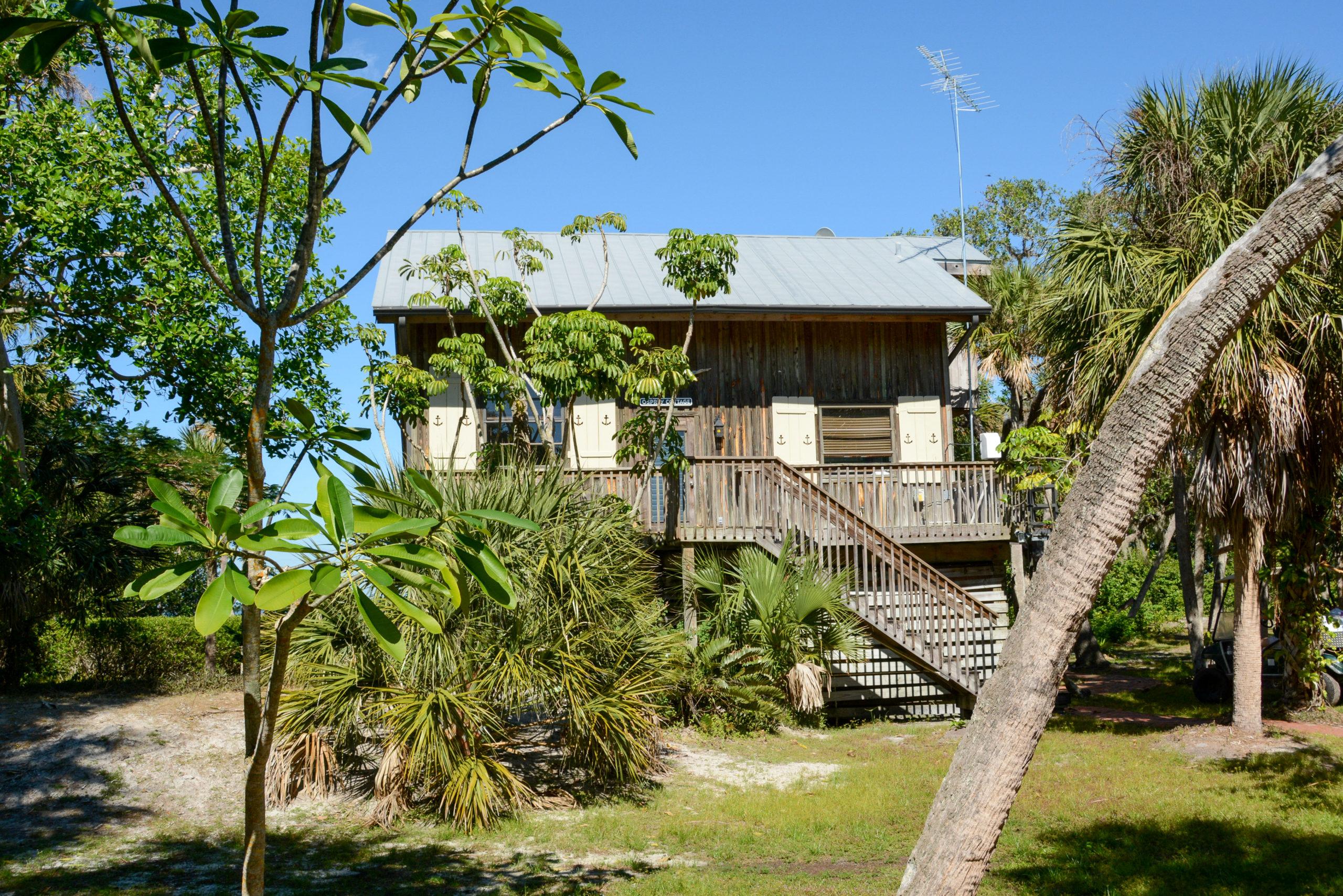 Die Insel Cabbage Key ist Gegenstand von Jimmy Buffett Song »Cheeseburger in Paradise«