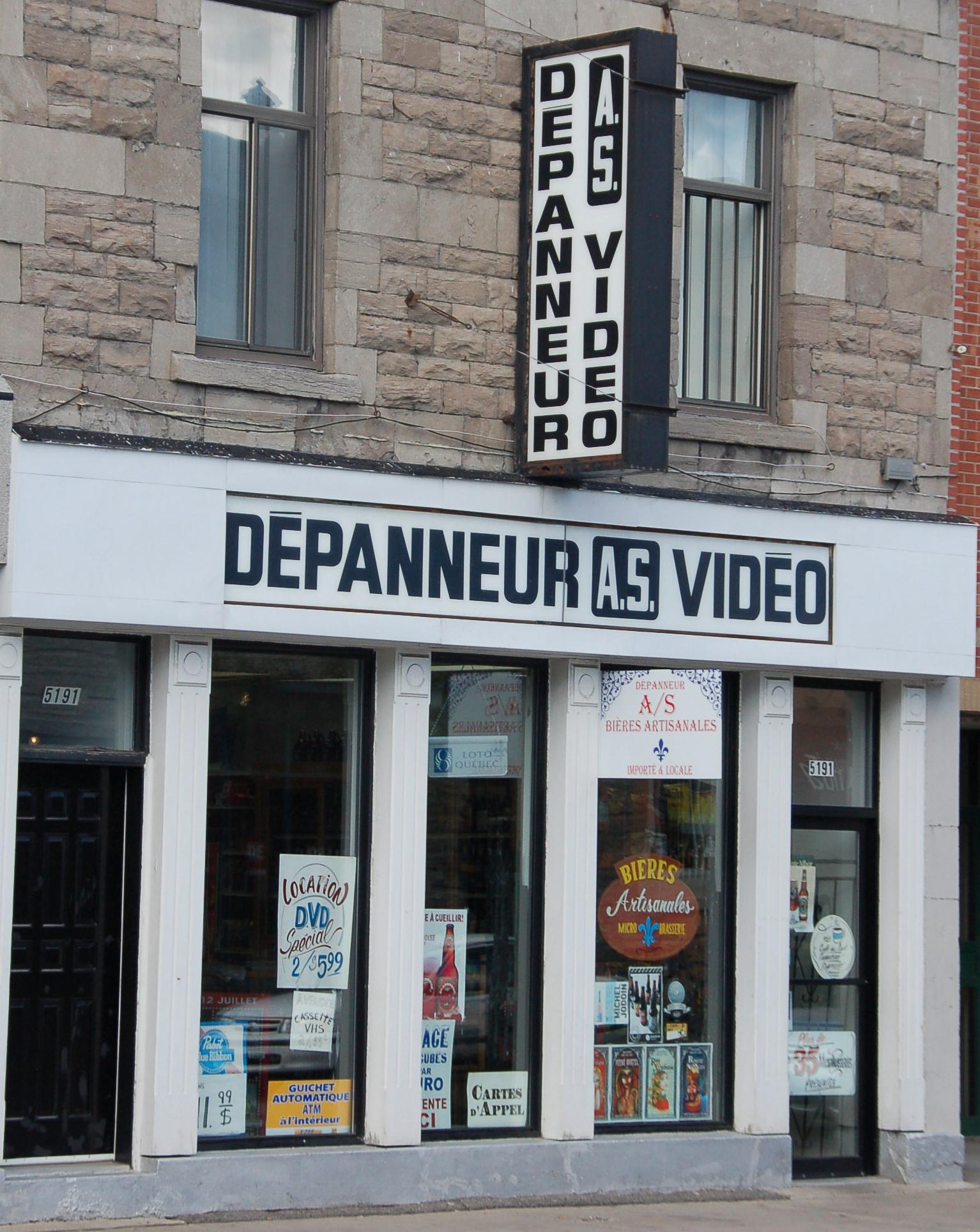 Der Dépanneur in Montreal entspricht dem Kölner Kiosk oder dem Berliner Späti