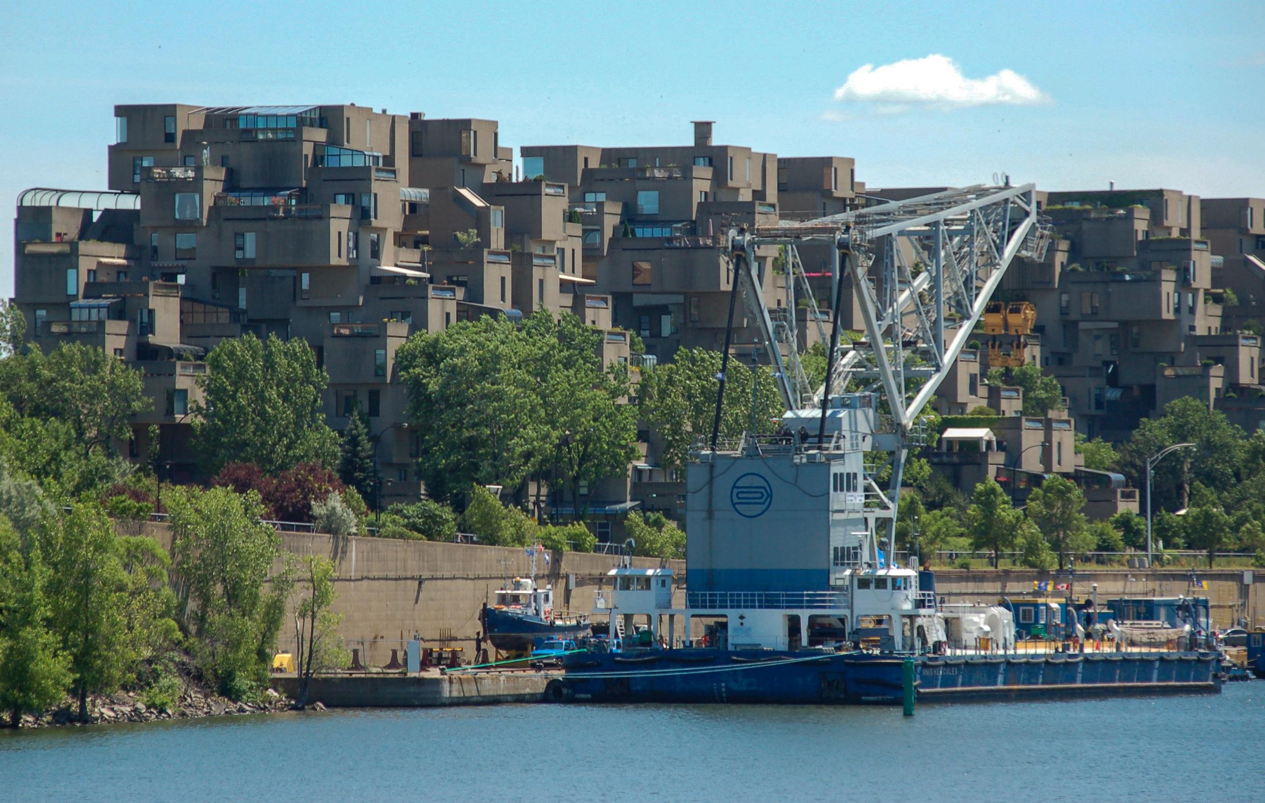 Wohnblöcke von Moshe Safdie in Montreal