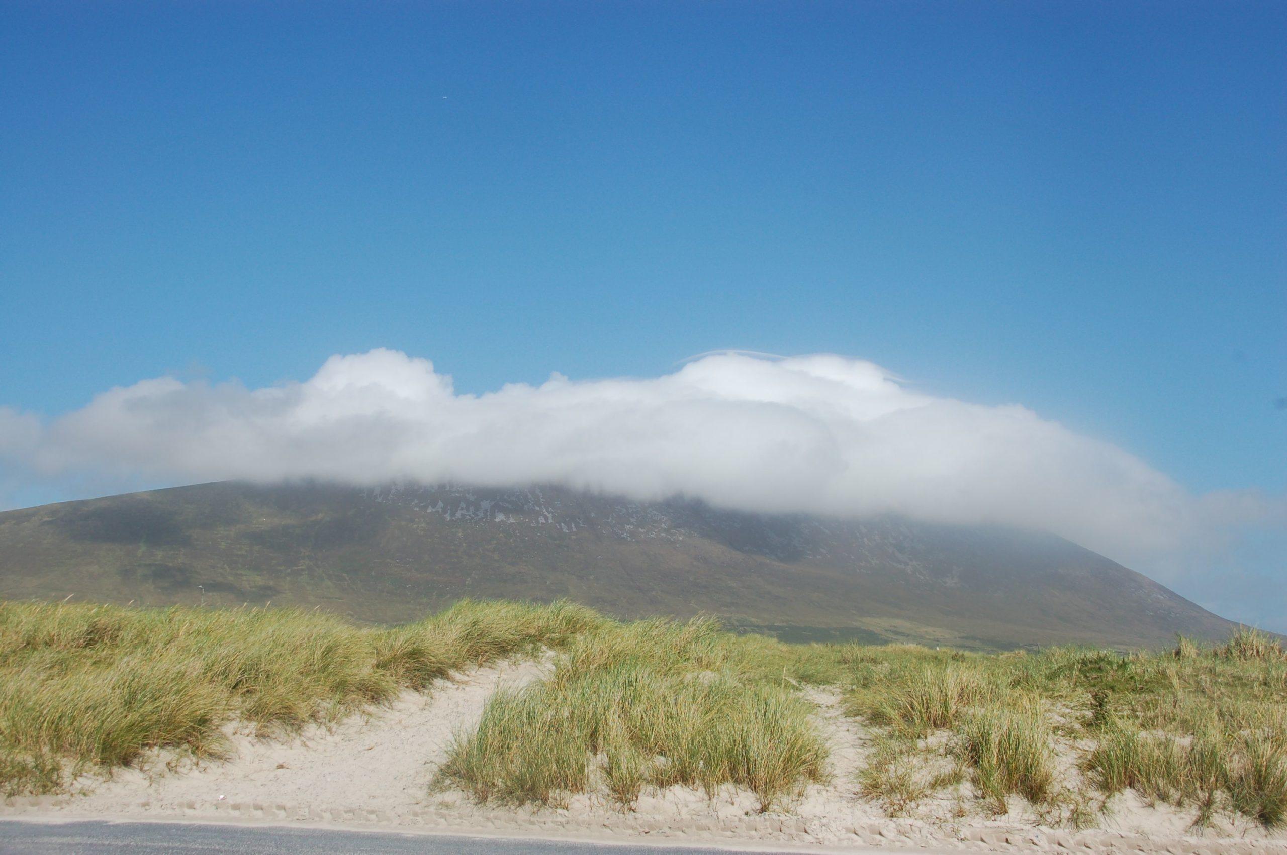 Der Mount Slievemore auf der Insel Achill