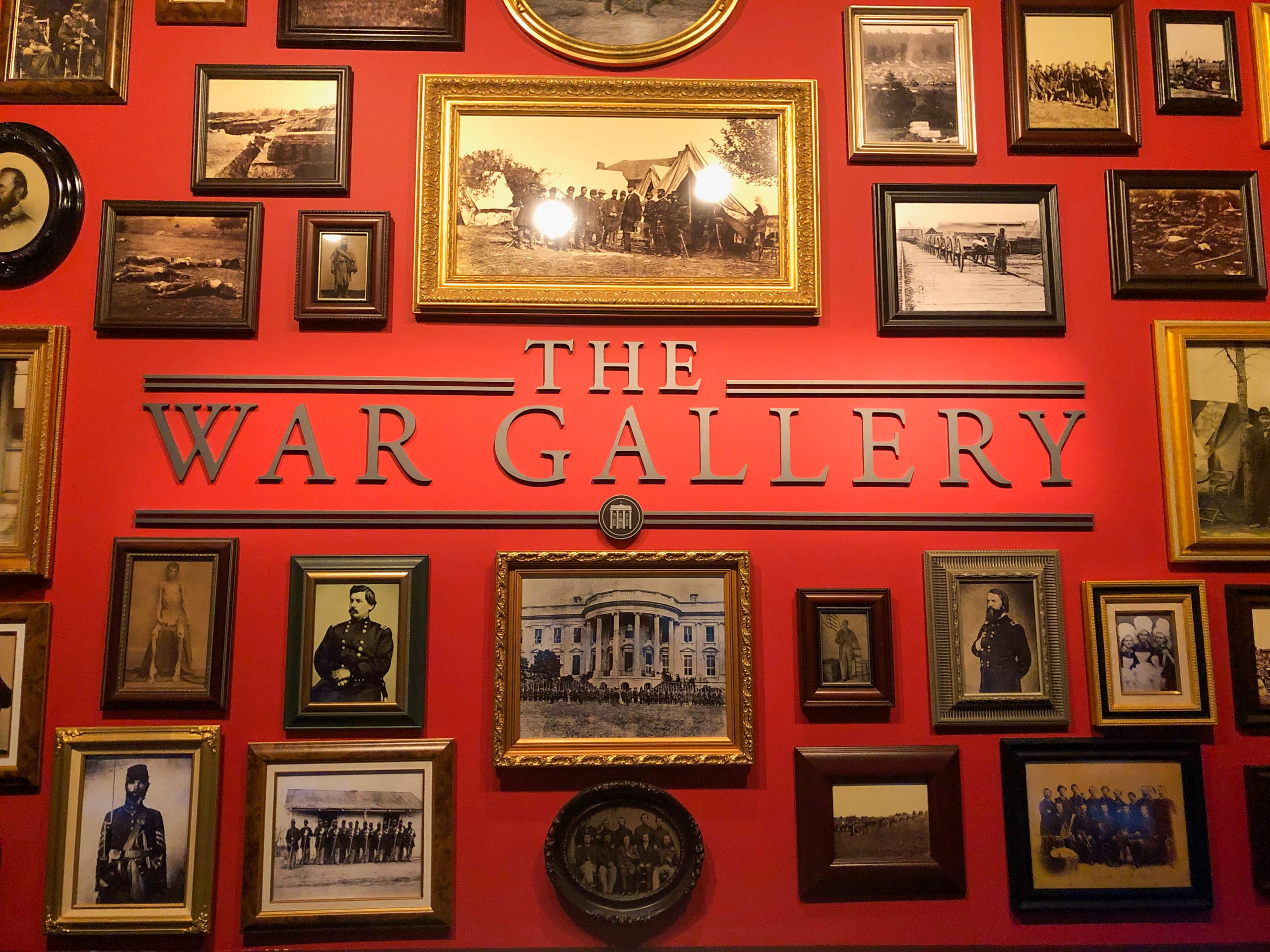 Bilder Szene mit historischen aus dem Abraham Lincoln Presidential Museum and Library