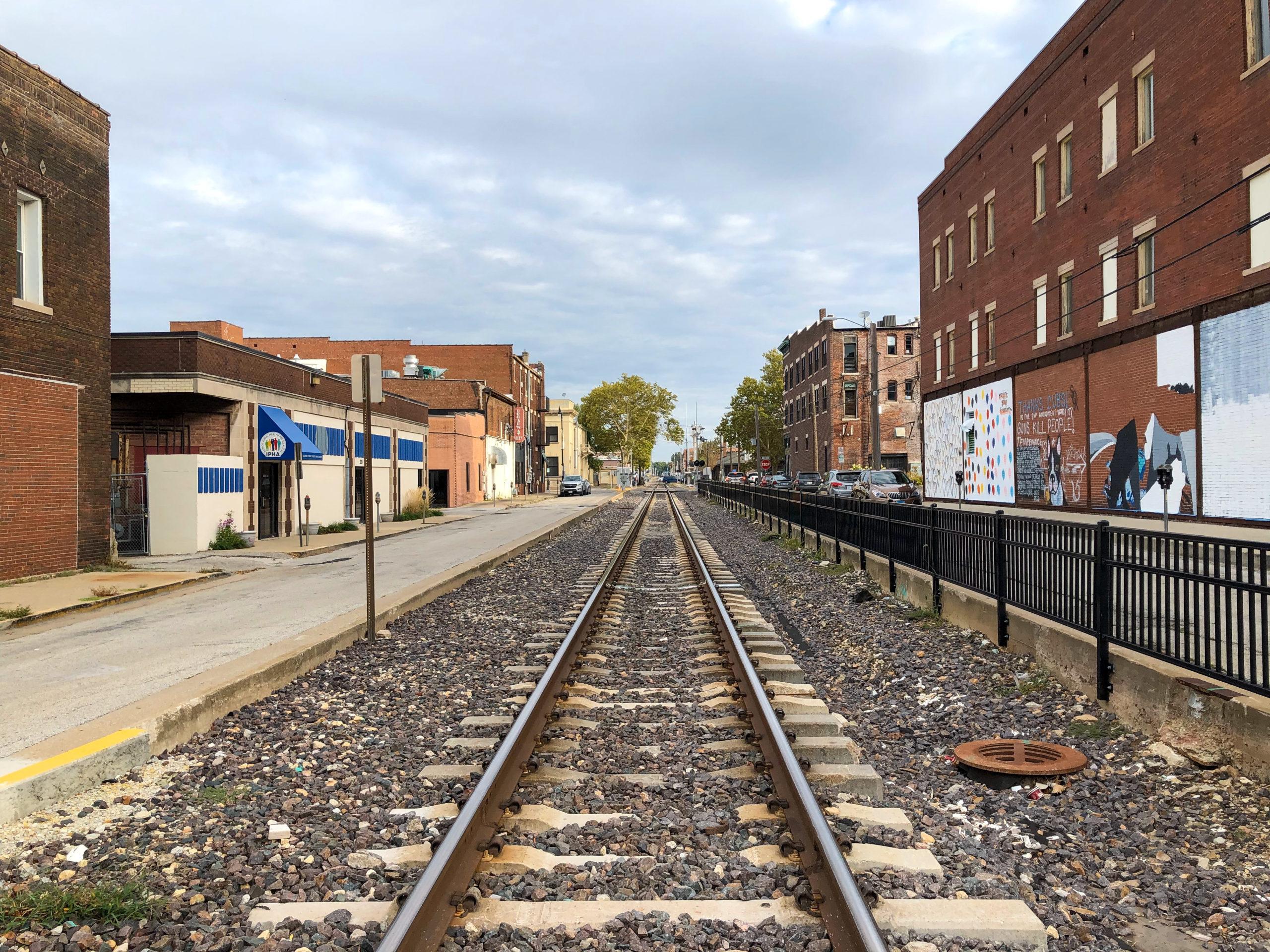 In Springfield, Illinois treffen sich Abraham Lincoln und die Route 66