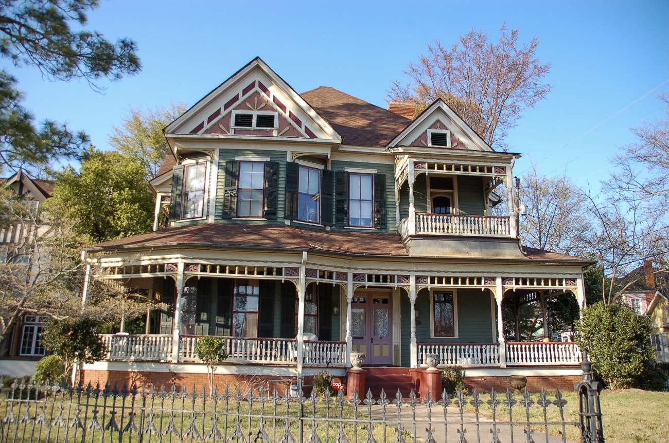 Das Wohnhaus der Allman Brothers in Macon Georgia der vergessene Hauptstadt des Rock'n'Roll