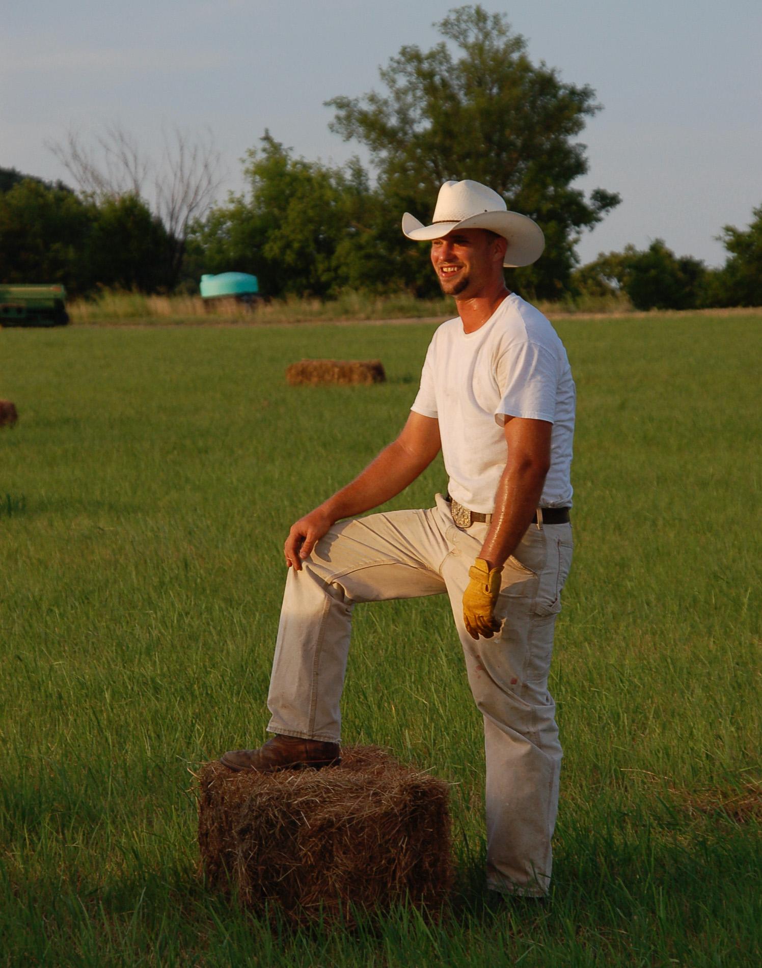 Cowboys in Kansas und Oklahoma führen ein einfaches, aber nicht selten zufriedenes Leben