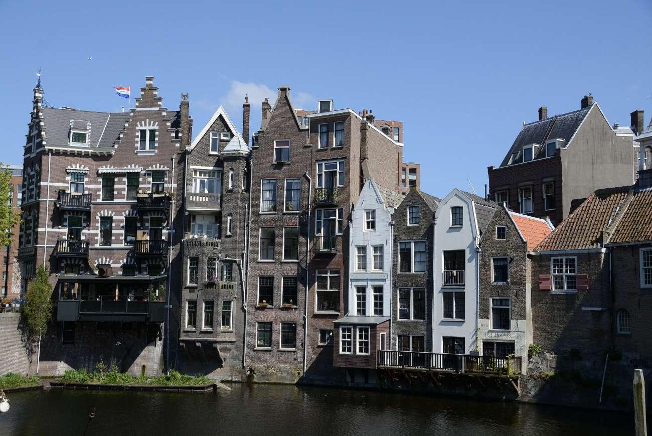 Der Delfshaven in Rotterdam ist der letzte verblieben Ort in der Stadt, wo das alte Holland lebt.