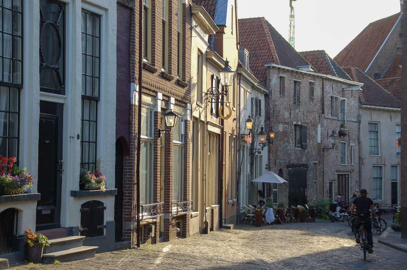 Das Bergkwartier in der niederländischen Hansestadt Deventer