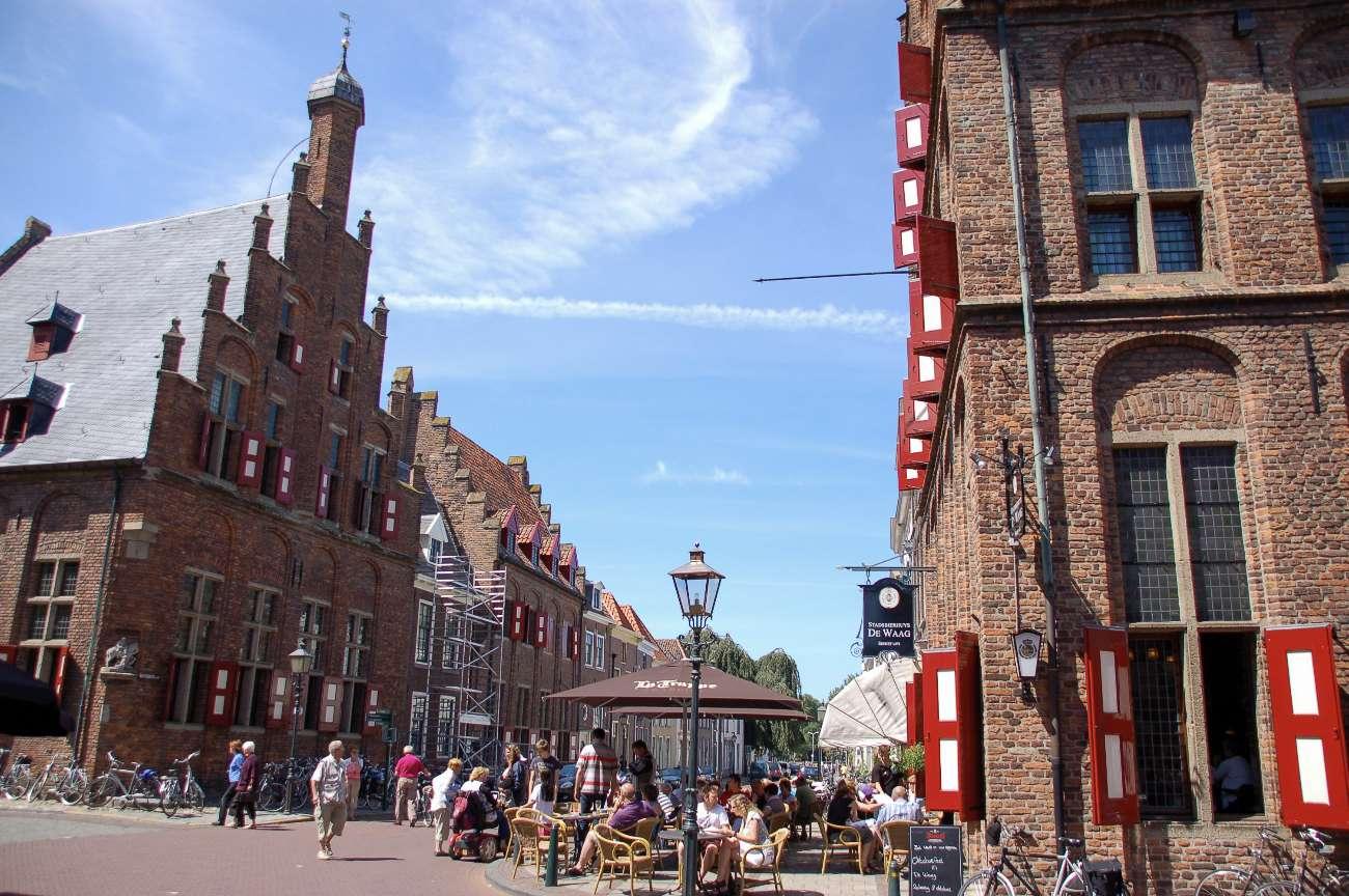 Das Restaurant De Waag in der Hansestadt Doesburg gilt als ältestes der Niederlande