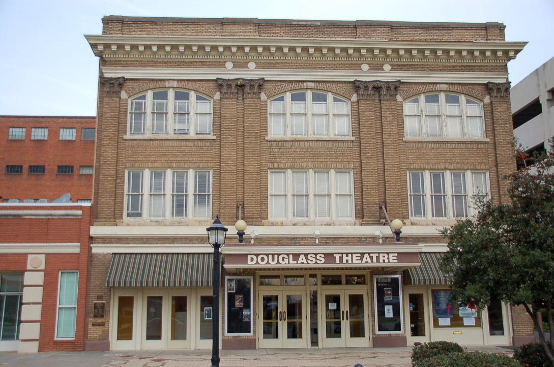 Das Douglass Theatre in Macon im US-Bundestaat Georgia ist eine legendäre Spielstätte wo auch Elvis und Prince aufgetreten sind