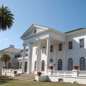 Das ehemalige Wohnhaus der Familie Carnegie auf Cumberland Island