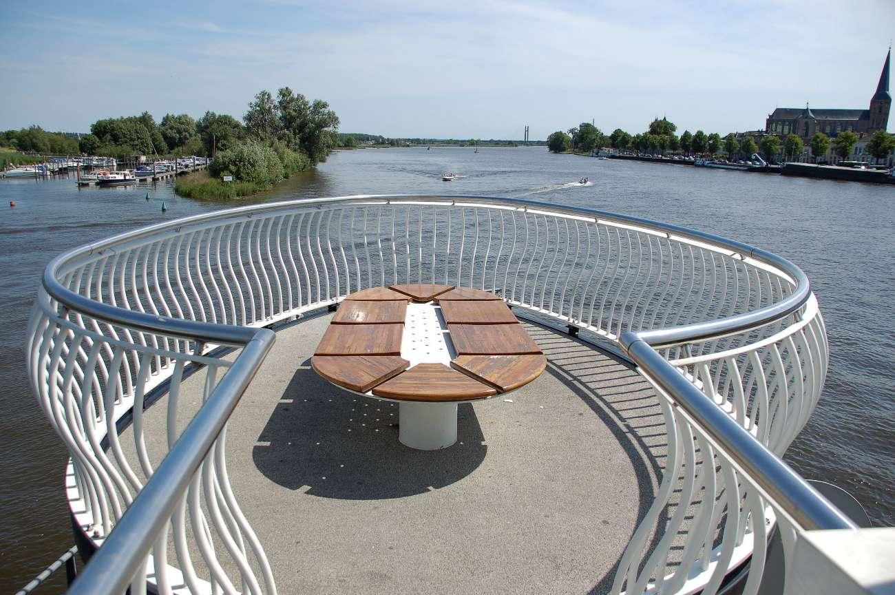 Aussichtsplattform in Kampen an der Ijssel