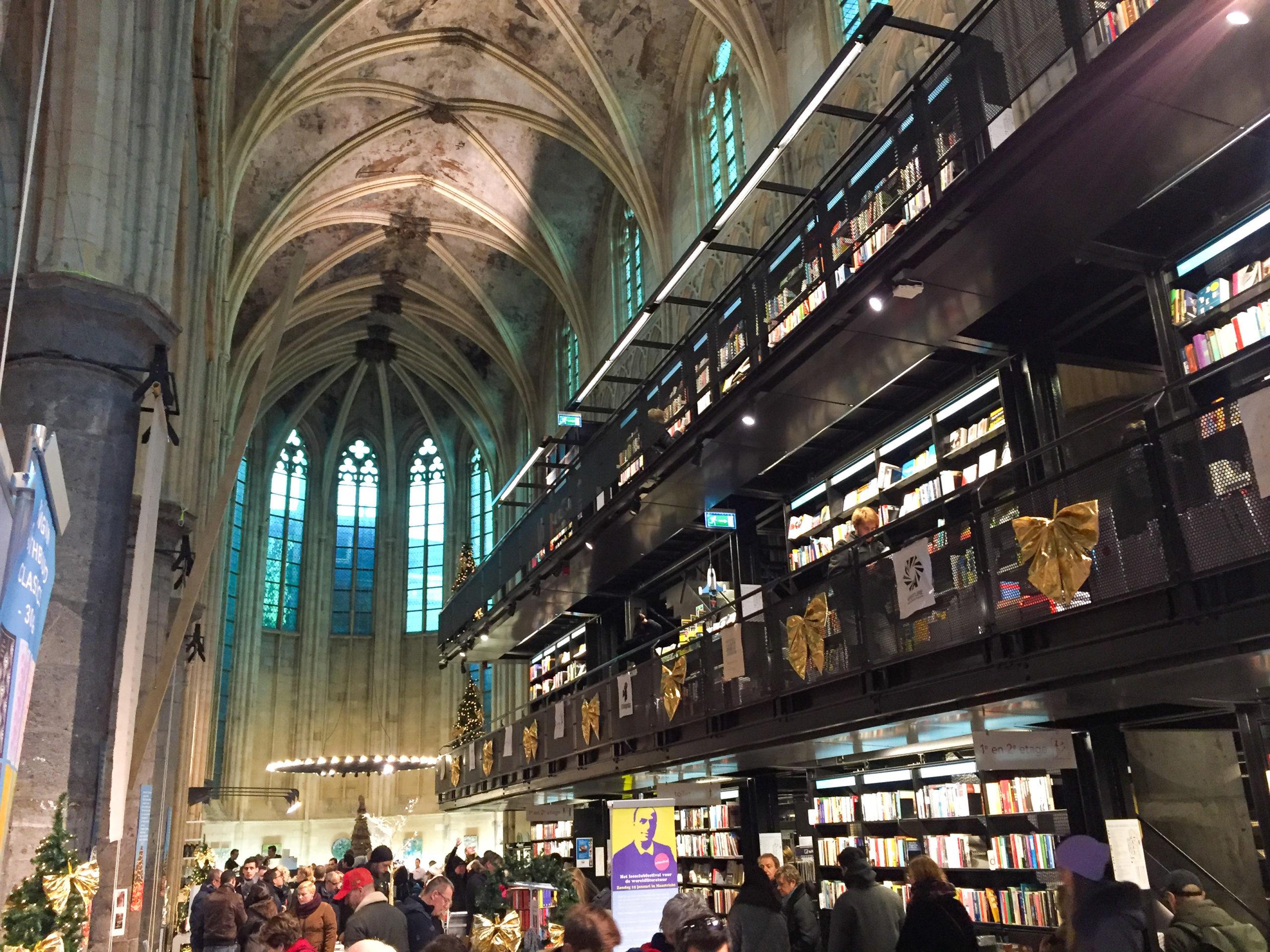 Die schönste Buchhandlung der Welt in Maastricht heißt De Dominicanen