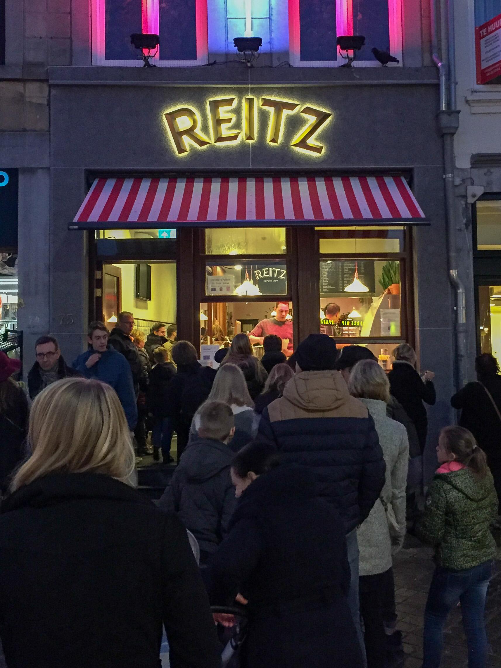 Die Fritture Reitz in Maastricht ist die älteste Frittenbude der Niederlande