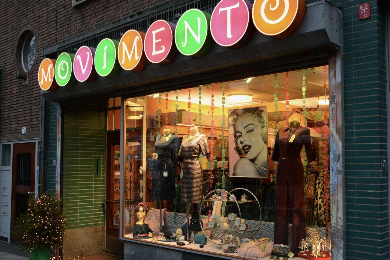 Einkaufen macht Spaß in den hippen Boutiquen in Rotterdam.