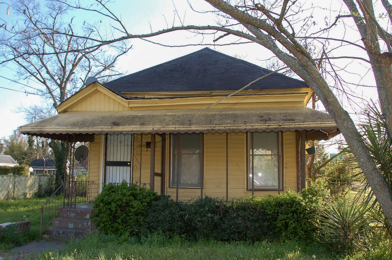 Das ehemalige Wohnhaus von Otis Redding in Macon im US-Bundesstaat Georgia