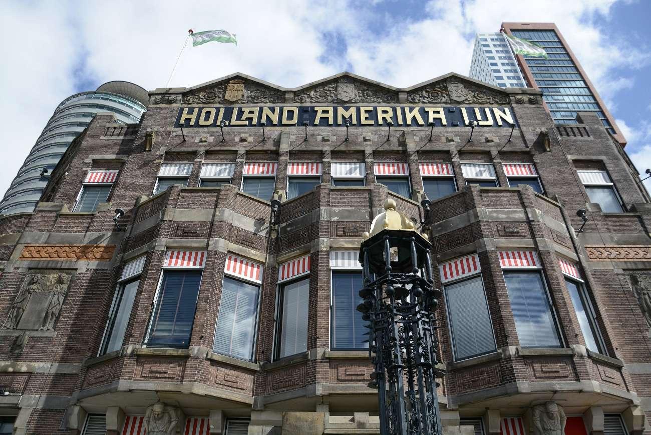 Das Hotel New York in Rotterdam war einst Hauptsitz der Holland Amerika Lijn