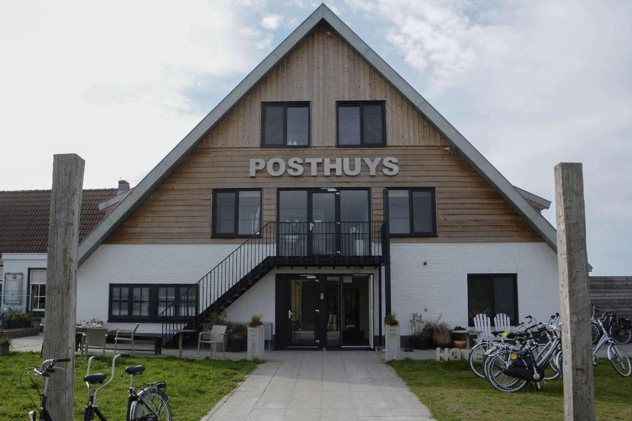 Das Hotel Posthuys auf Vlieland