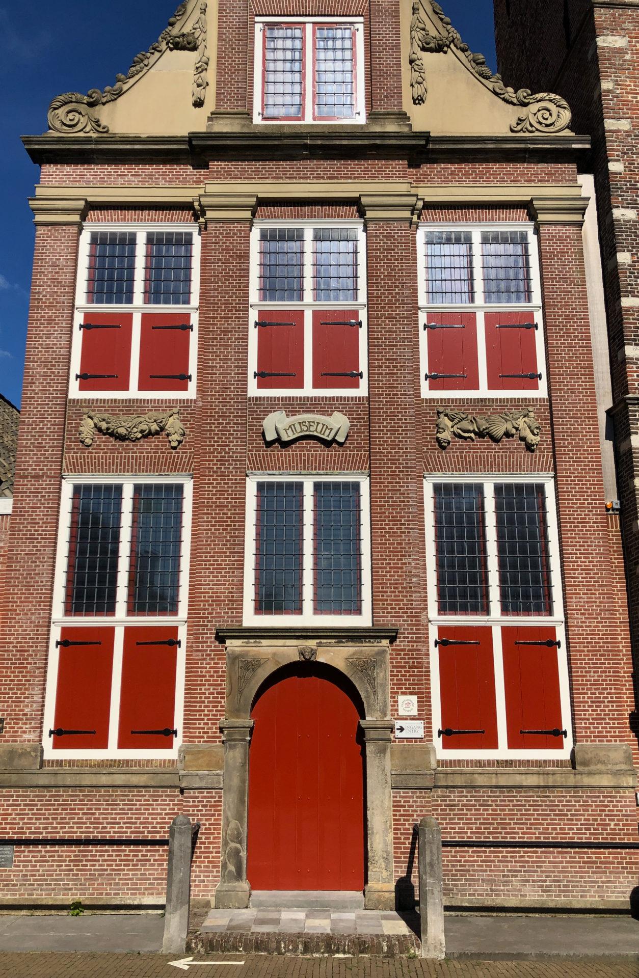 Giebelhaus als Museum in Monnickendam in Holland