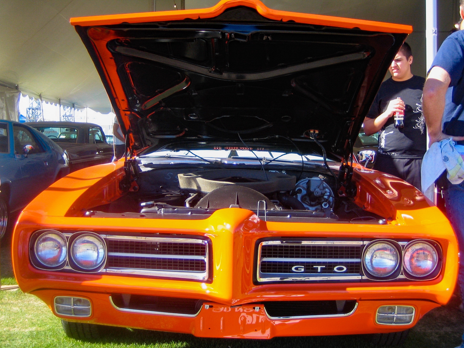 Ein GTO bei der Autoauktion Barrett Jackson in Scottsdale