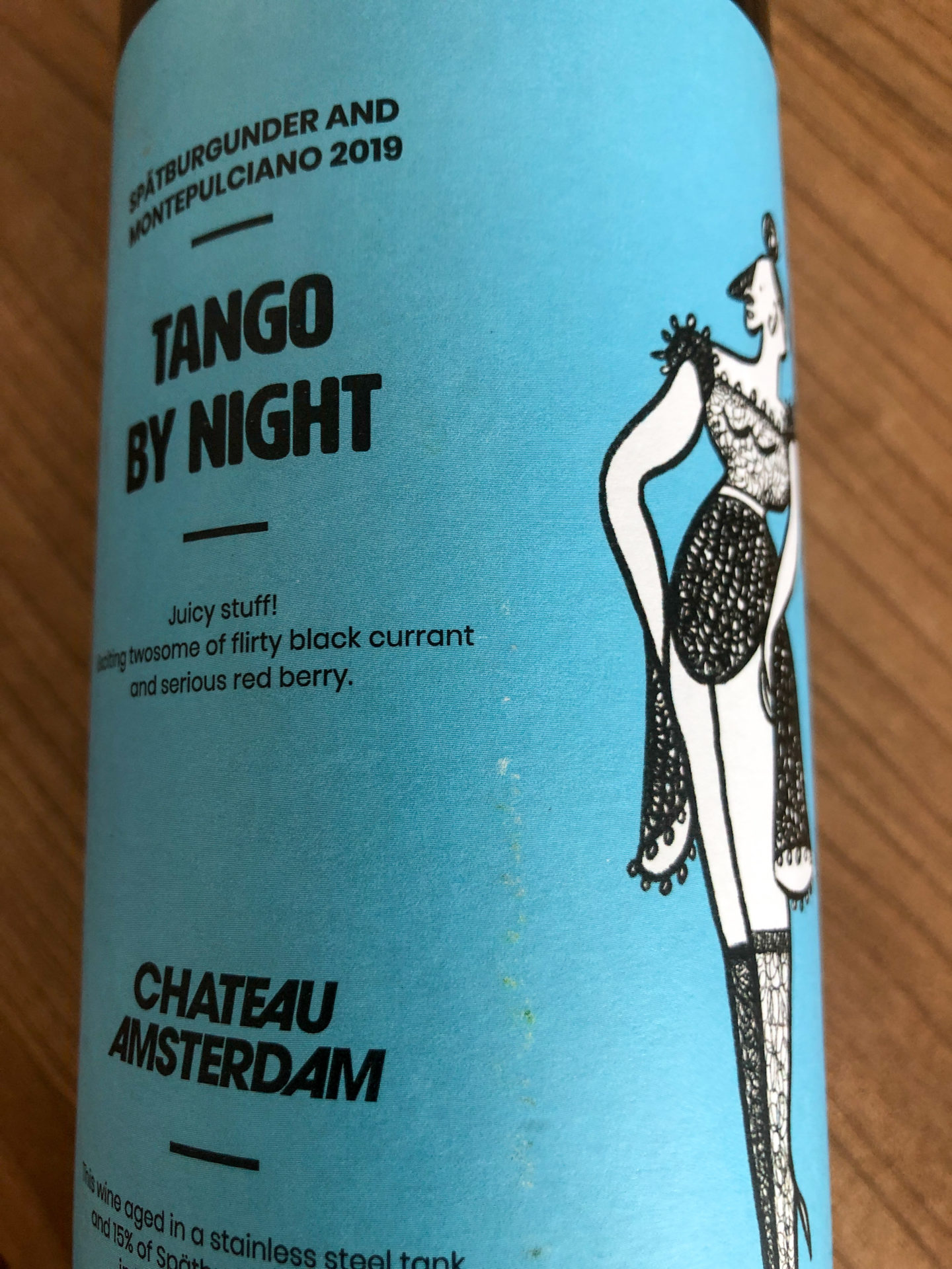 Cuvee Tango by Night von Chateau Amsterdam