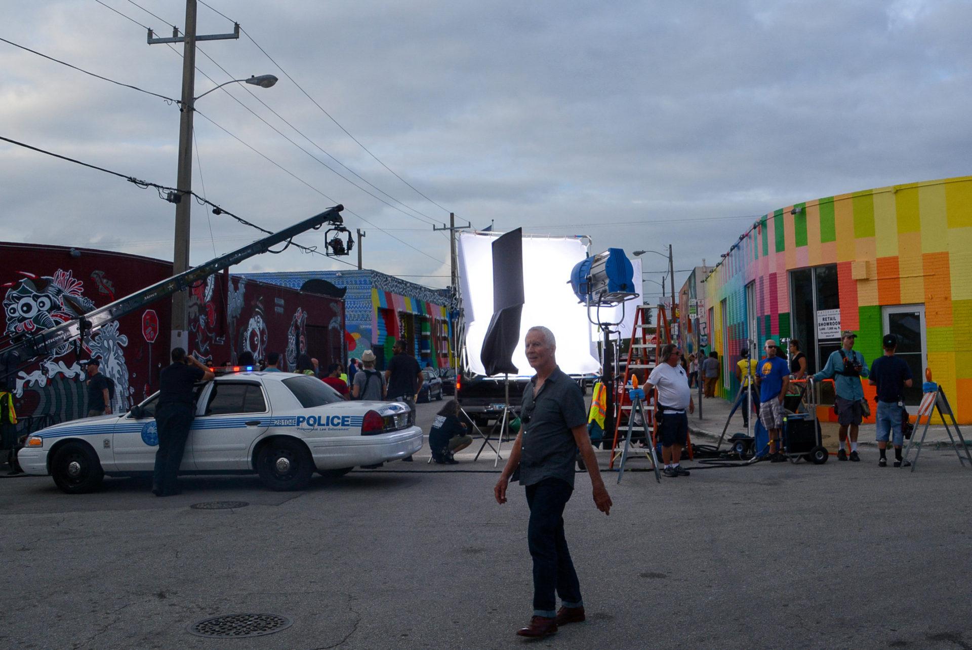 Filmdreh bei den Wynwood Walls in Miami