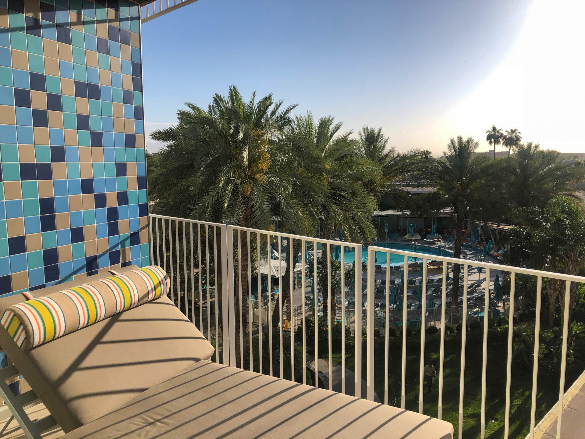 Das Valley Ho Hotel in Scottsdale ist im Mid Century Modern Stil gehalten
