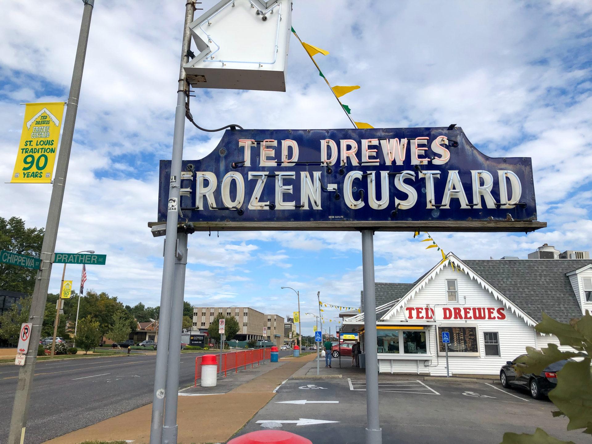Das Lokal Ted Drewes Frozen Custard in Maplewood in Saint Louis