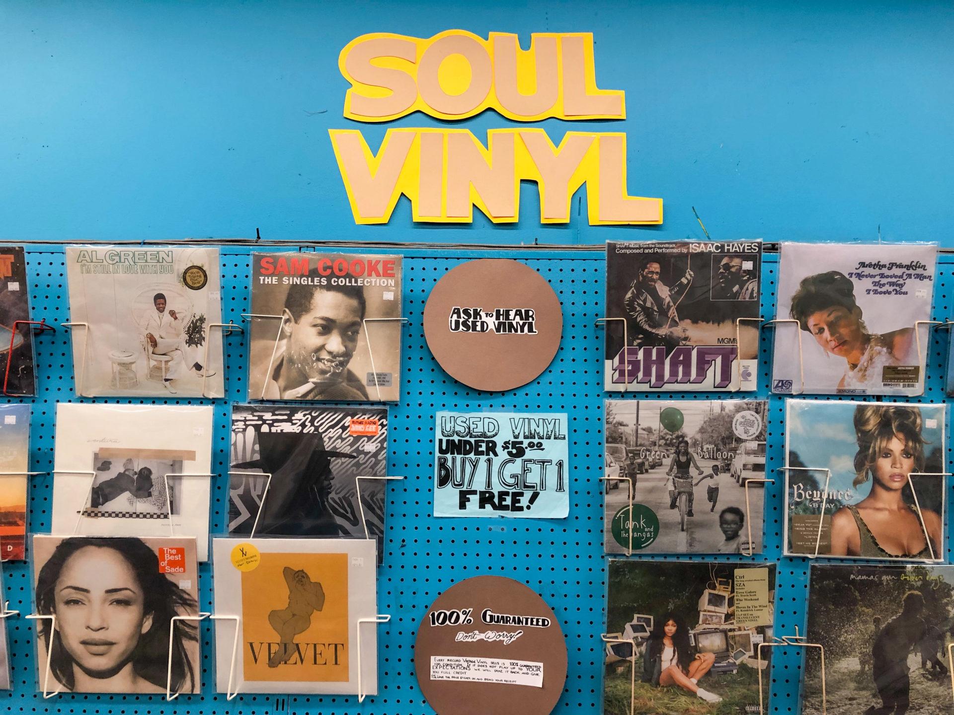 Saint Louis Soul Schallplatten